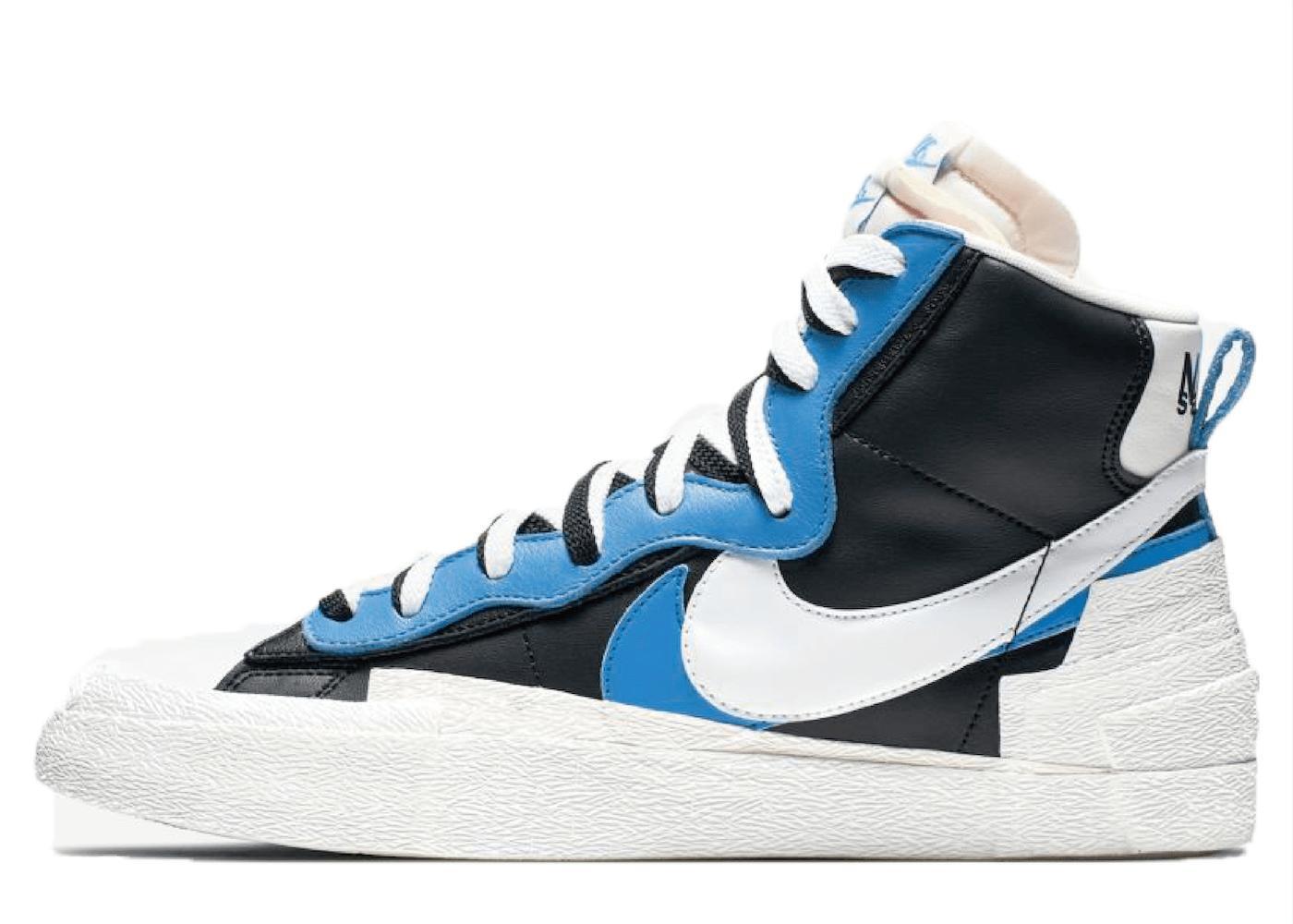 Sacai × Nike Blazer Mid Legend Blueの写真