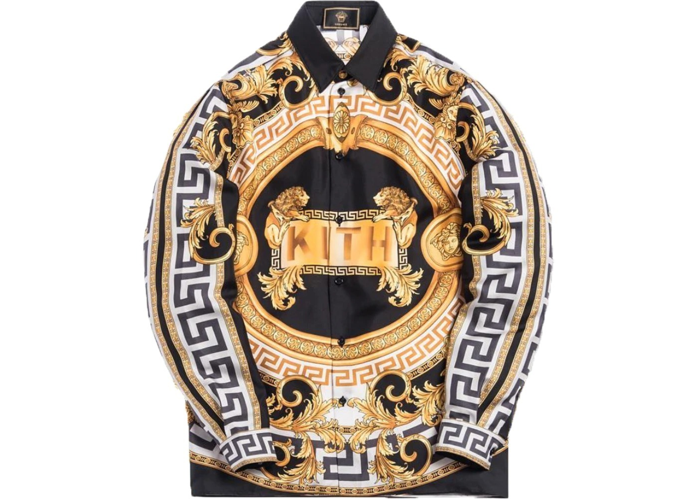 Kith x Versace Silk Shirt Lionの写真