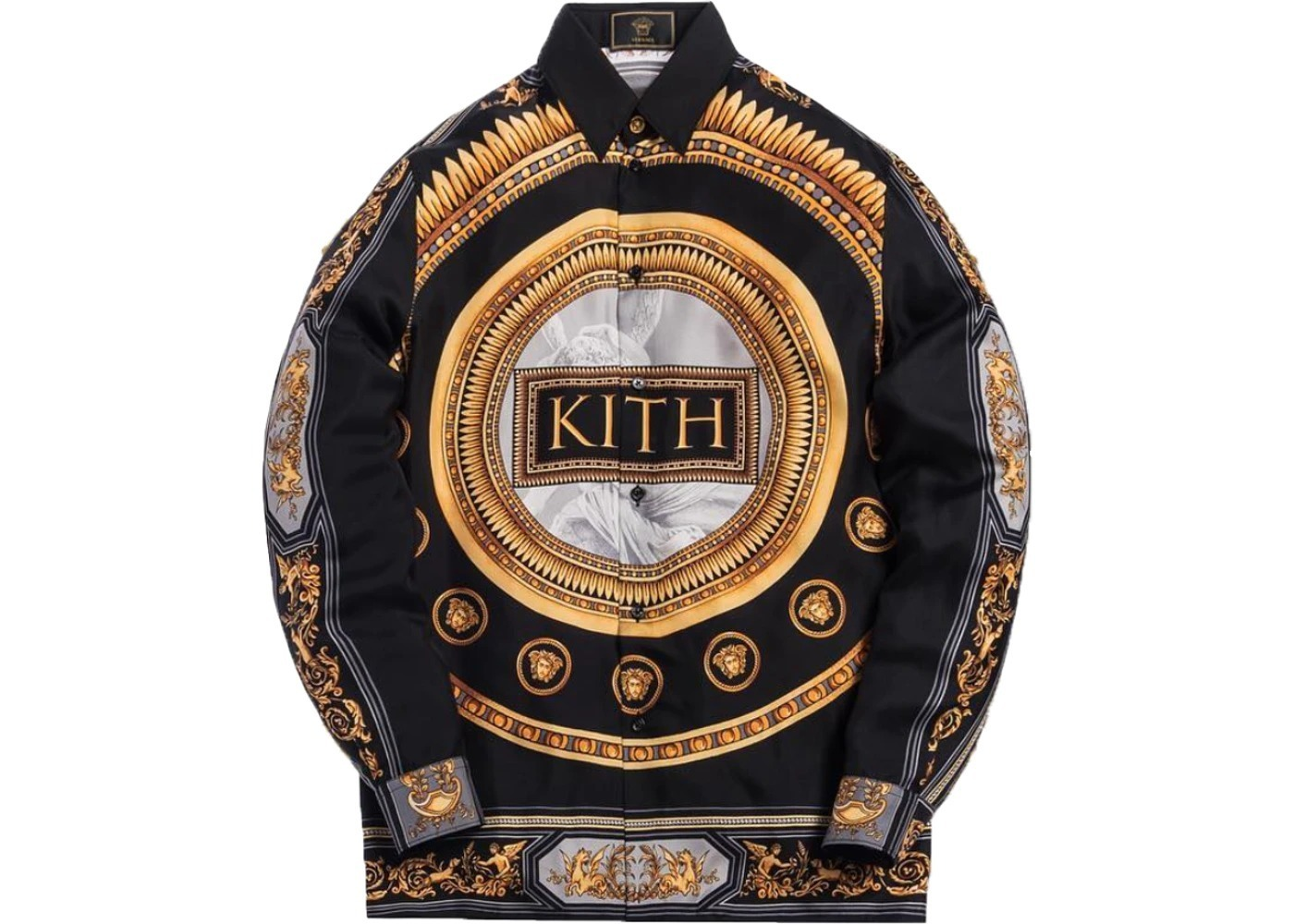Kith x Versace Silk Shirt Grecoの写真