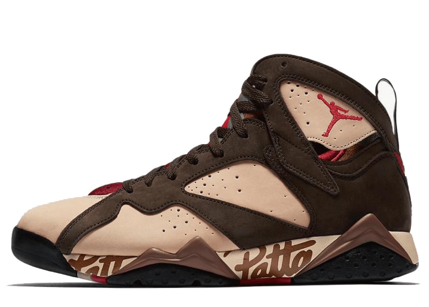 Nike Air Jordan 7 Retro Patta Shimmerの写真
