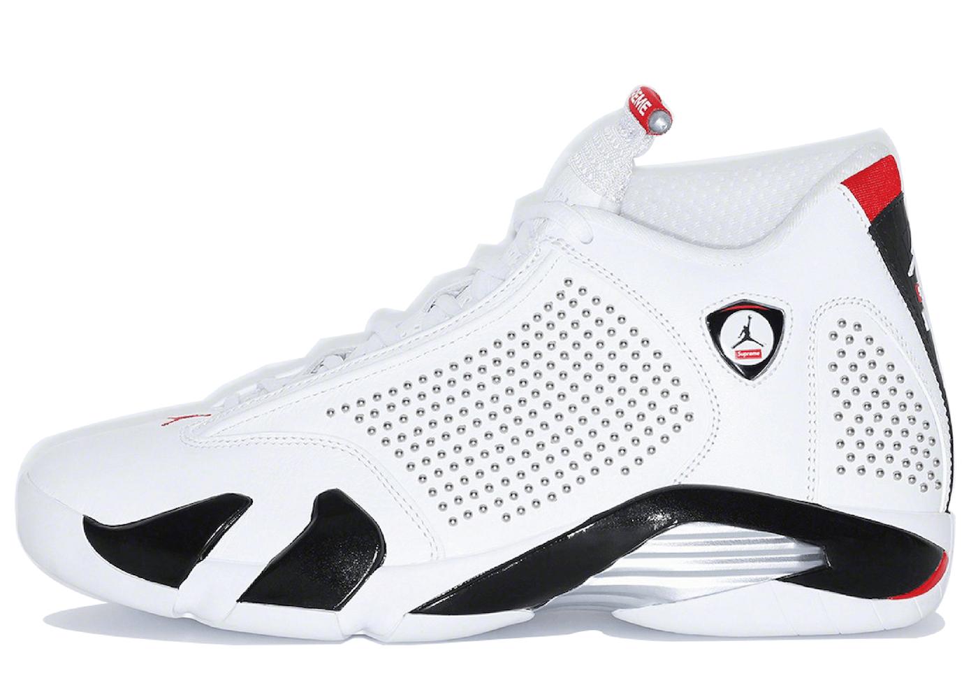 Nike Air Jordan 14 Retro Supreme White