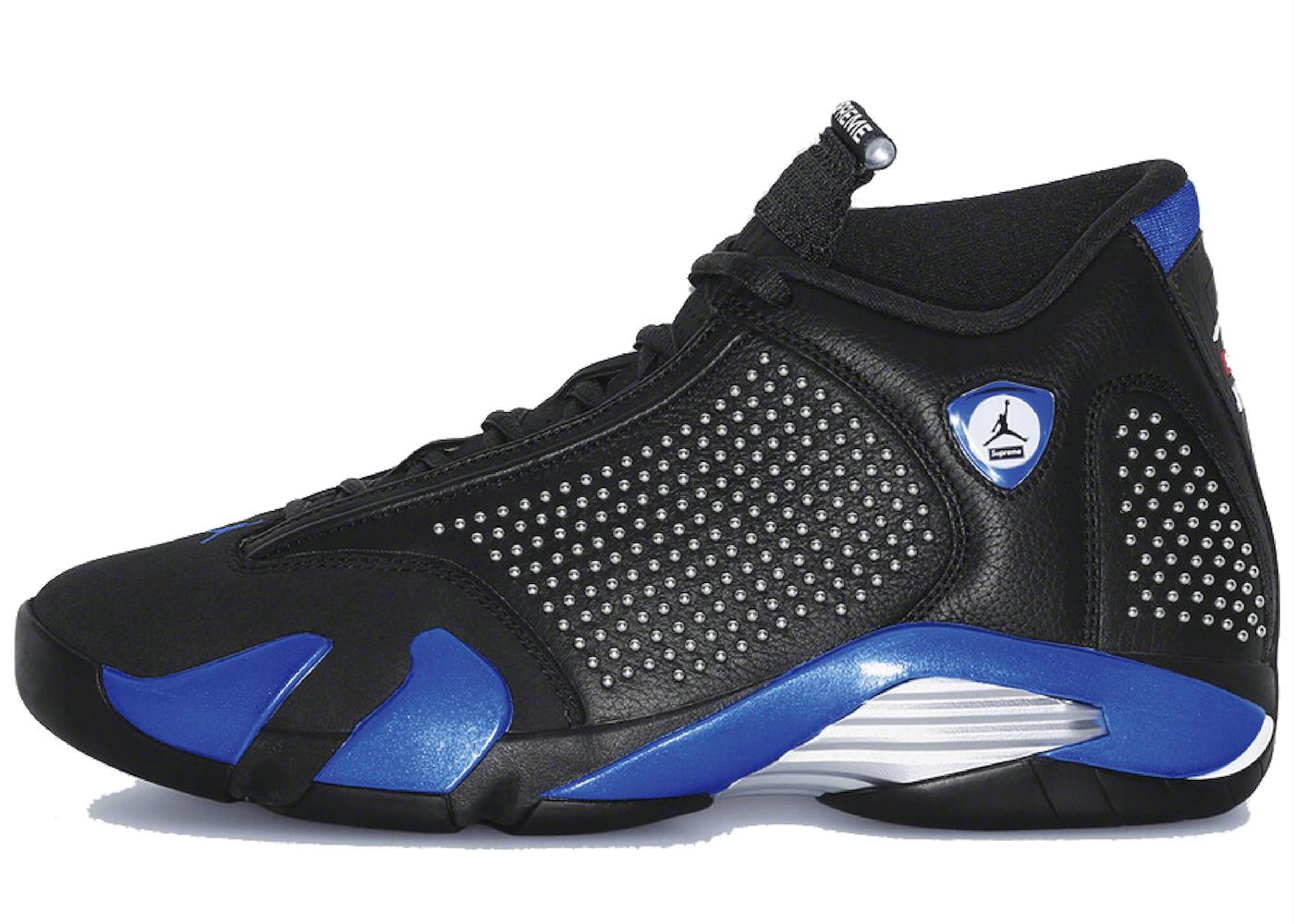 Nike Air Jordan 14 Retro Supreme Blackの写真