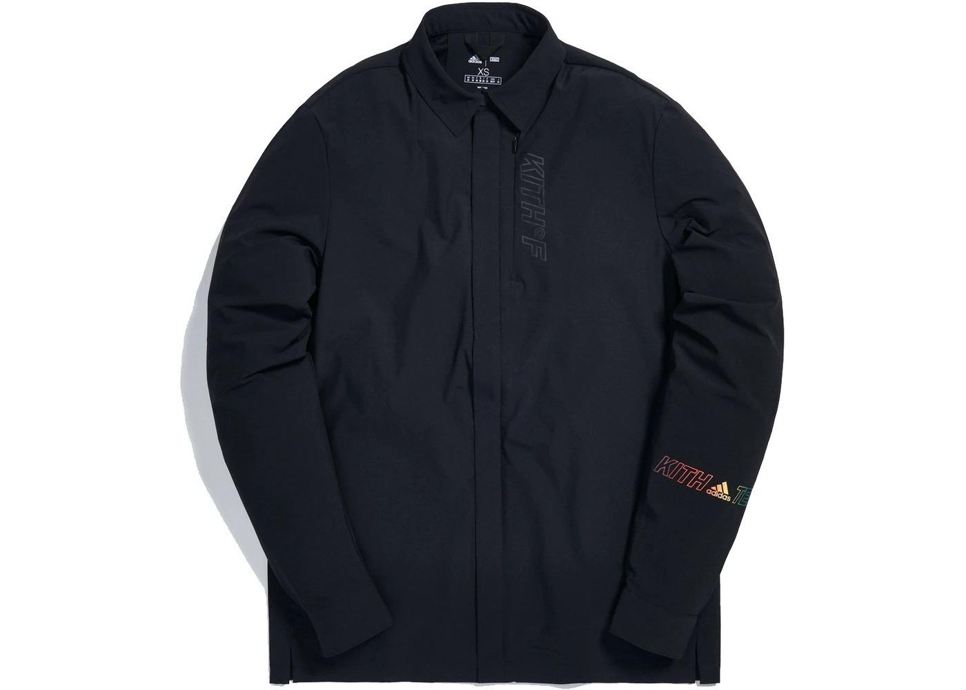 Kith x adidas Terrex Snap Shirt Blackの写真