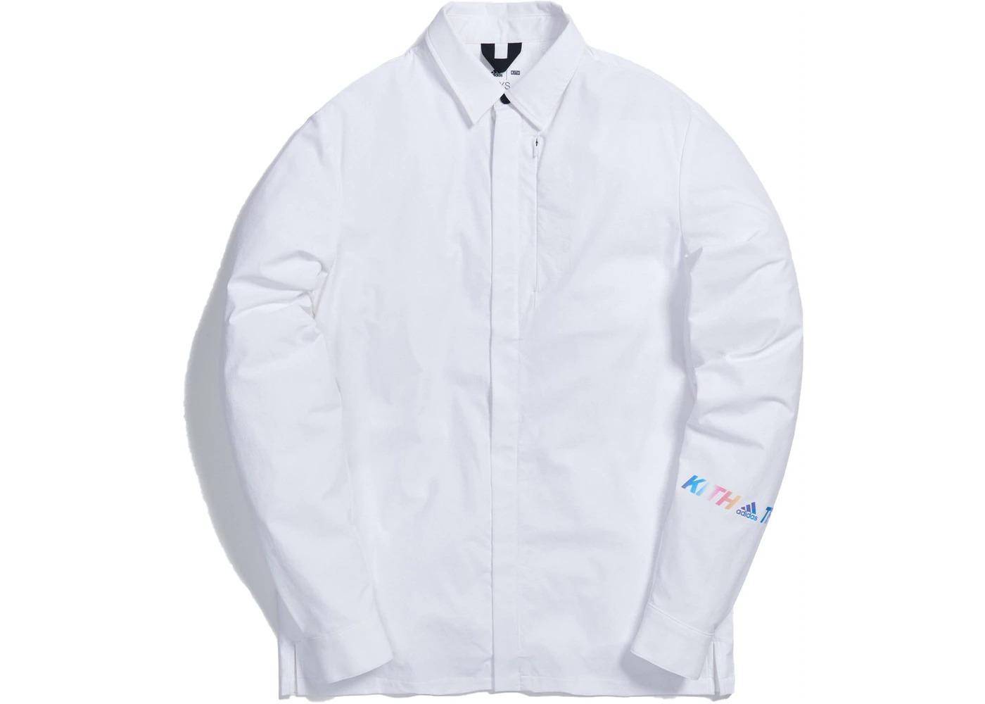 Kith x adidas Terrex Snap Shirt Whiteの写真