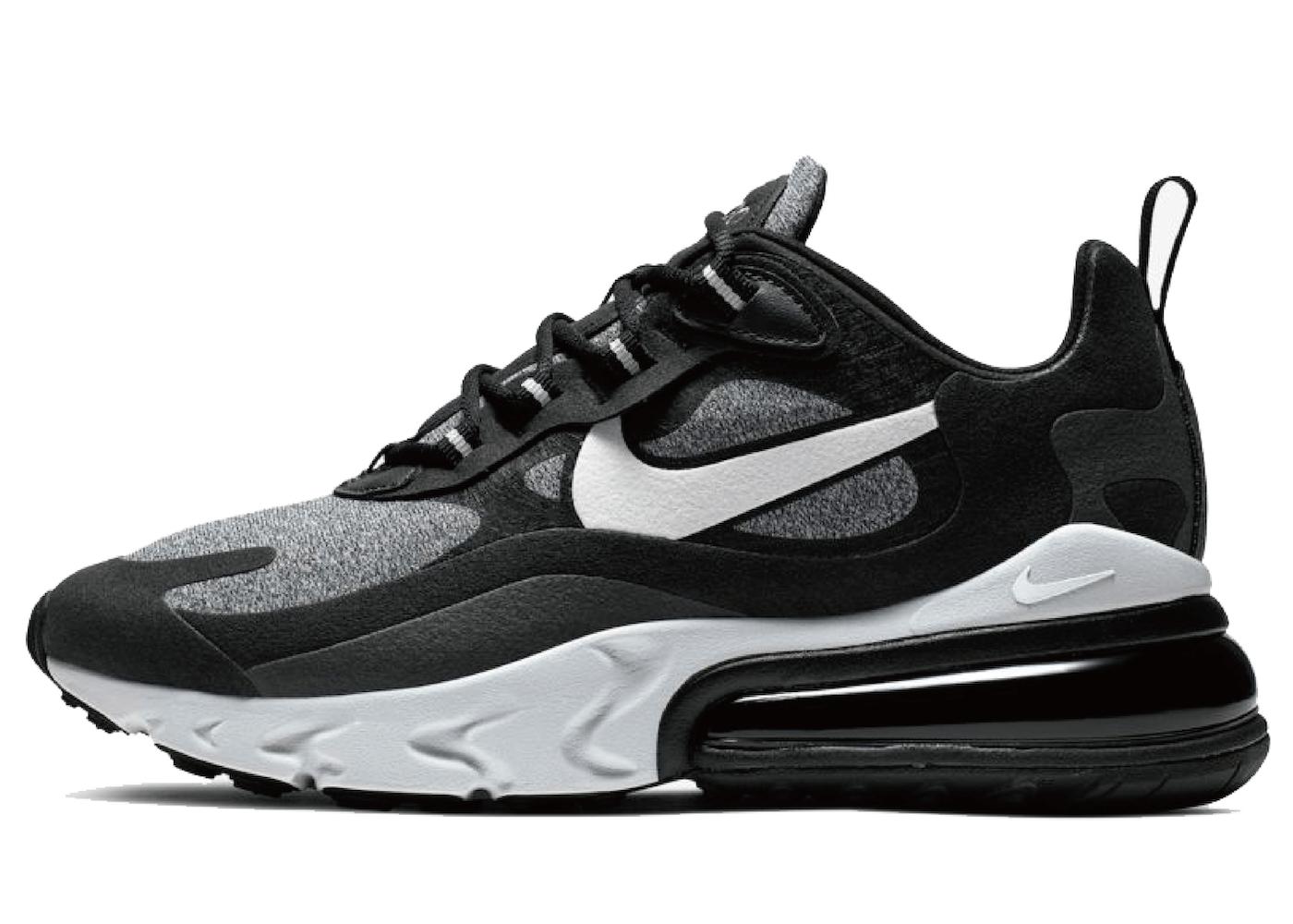 Nike Air Max 270 React Black Vast Greyの写真