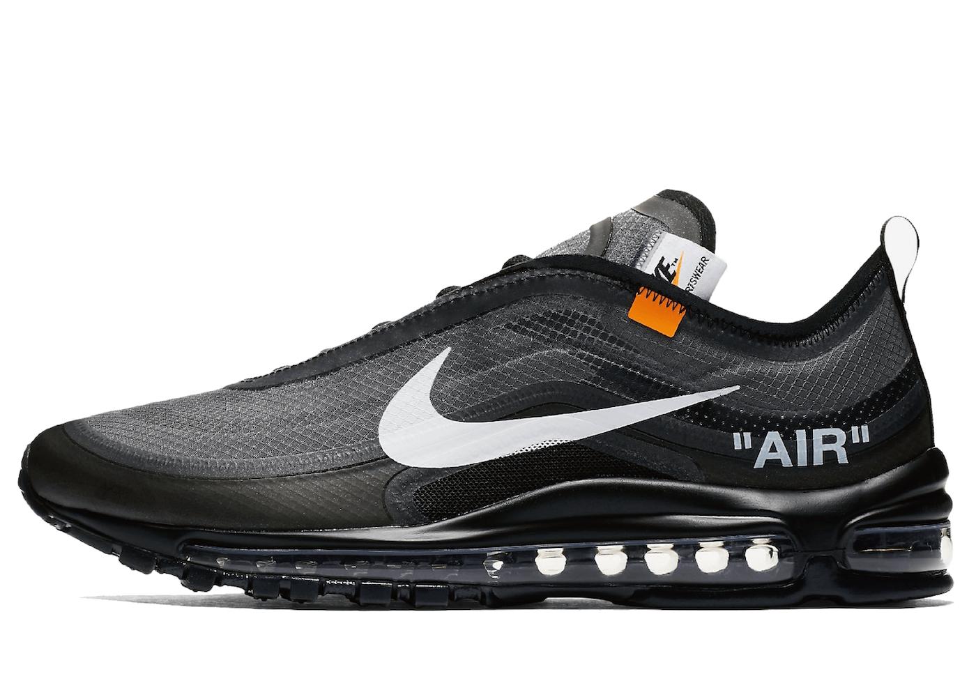 Off-White × Nike Air Max 97 Blackを安心