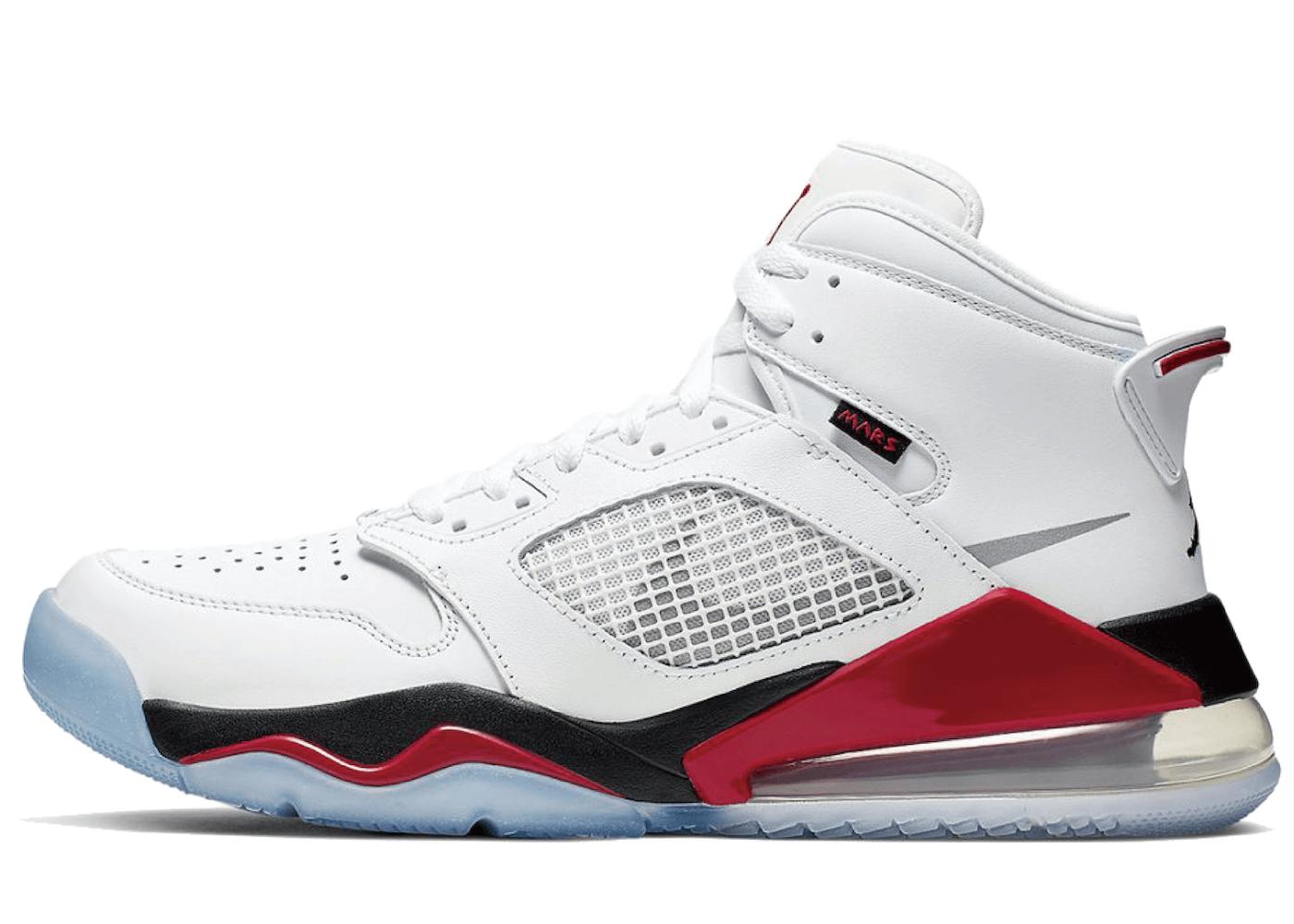 Nike Jordan Mars 270 White Fire Redの写真