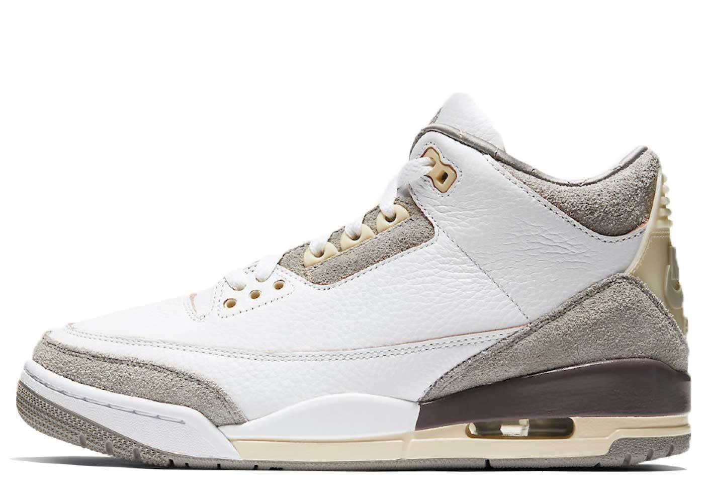 A Ma Maniere ×  Nike Air Jordan 3 Retro White Womensの写真