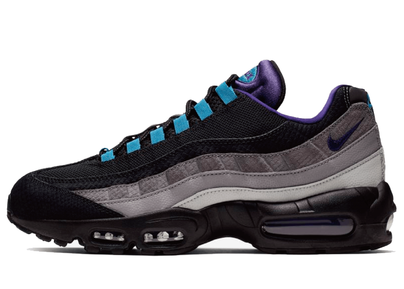 Nike Air Max 95 Black Court Purpleの写真