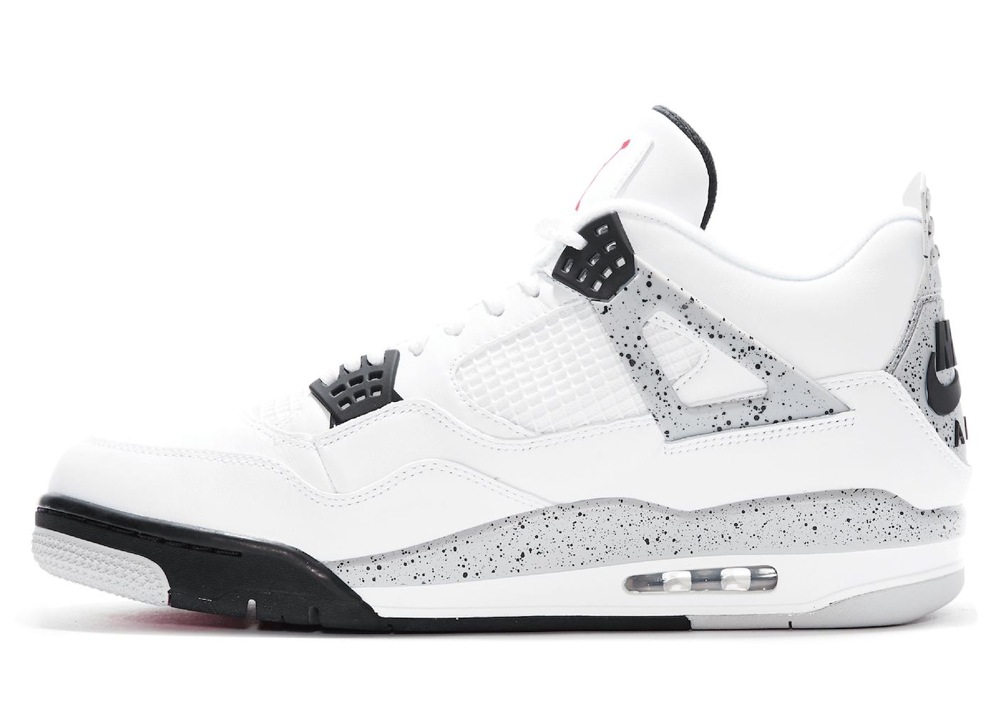 Nike Air Jordan 4 Retro White Cement (2016)の写真