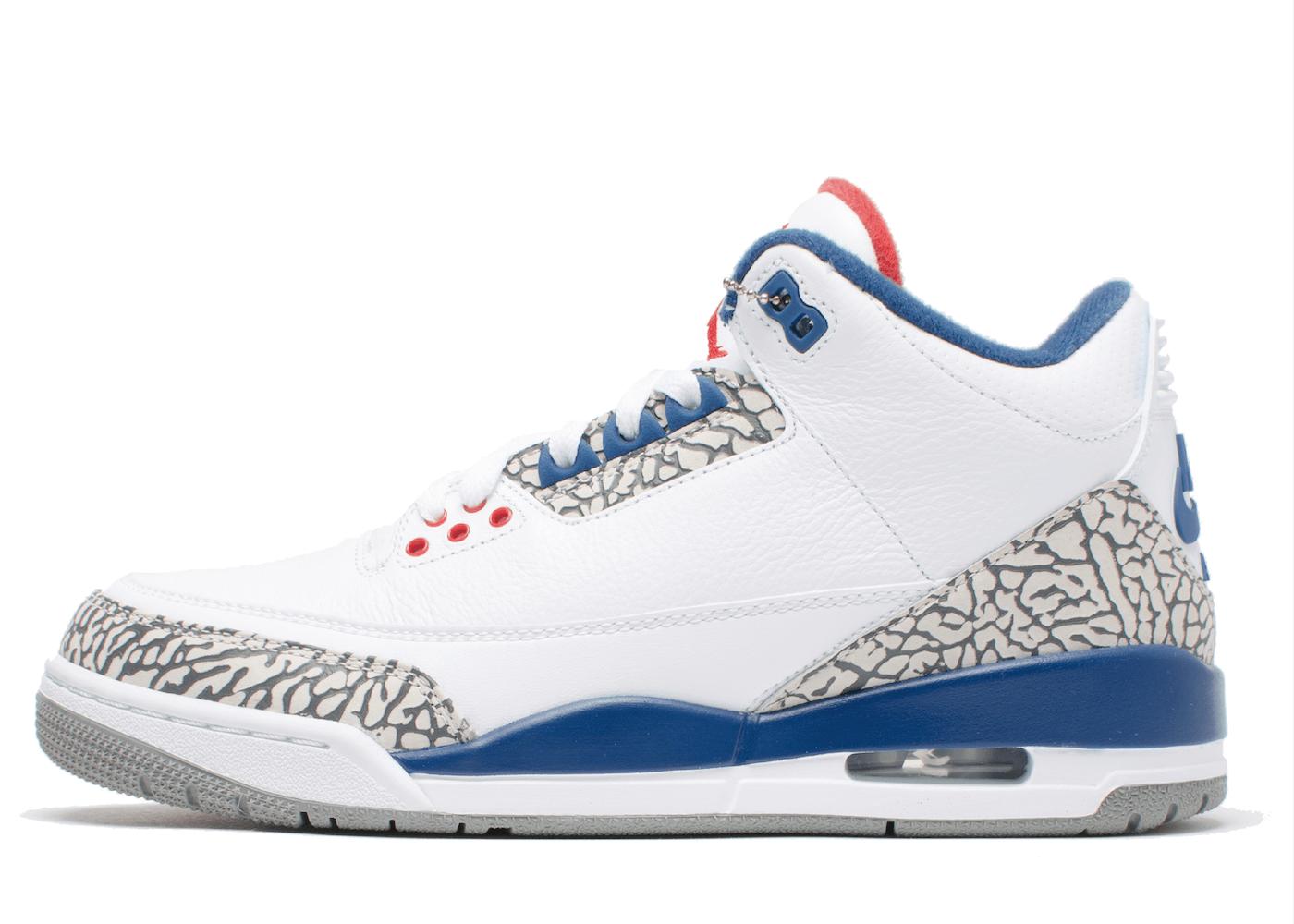 Nike Air Jordan 3 Retro True Blue (2016