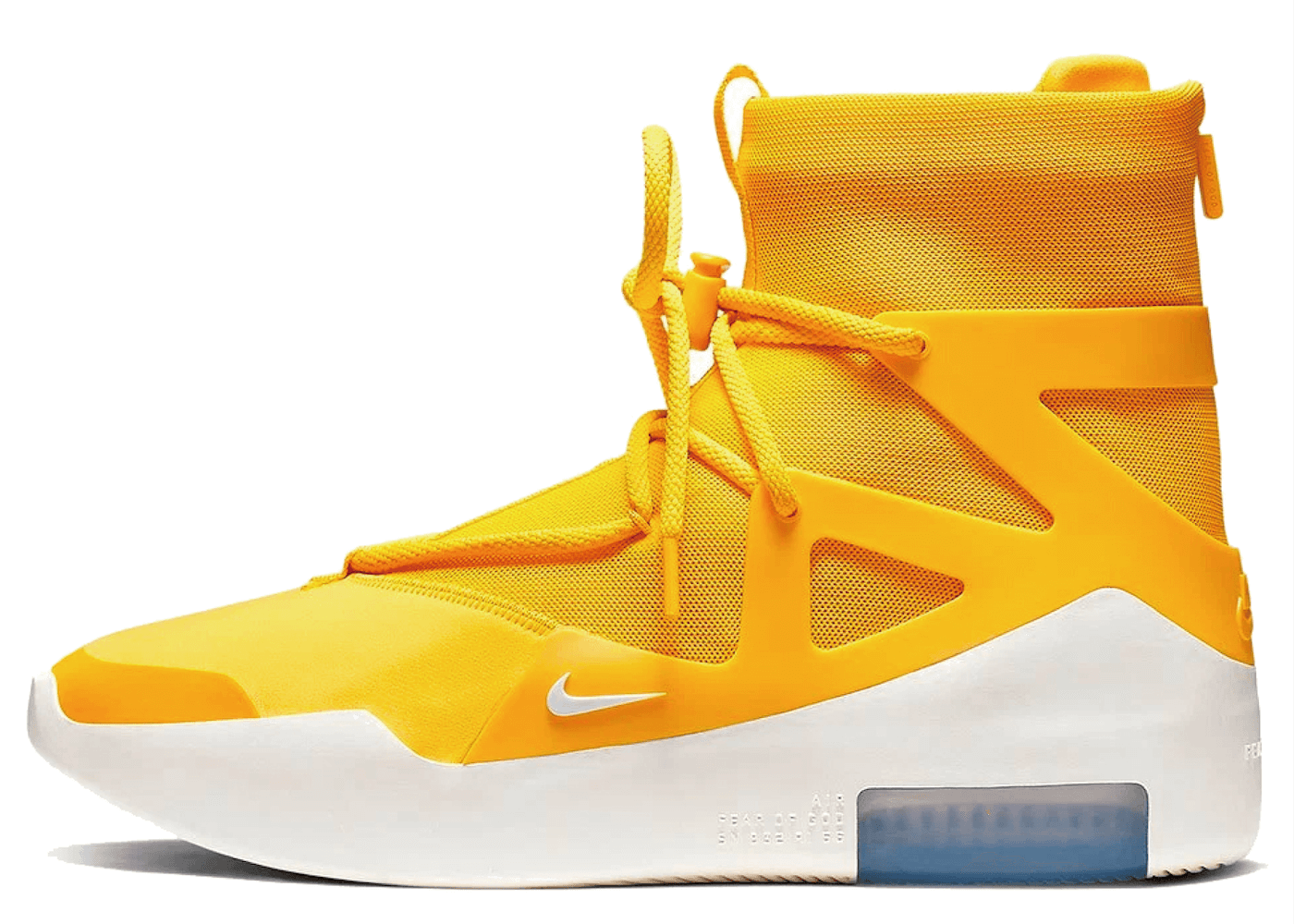 Nike Air Fear Of God 1 Yellowを安心売買