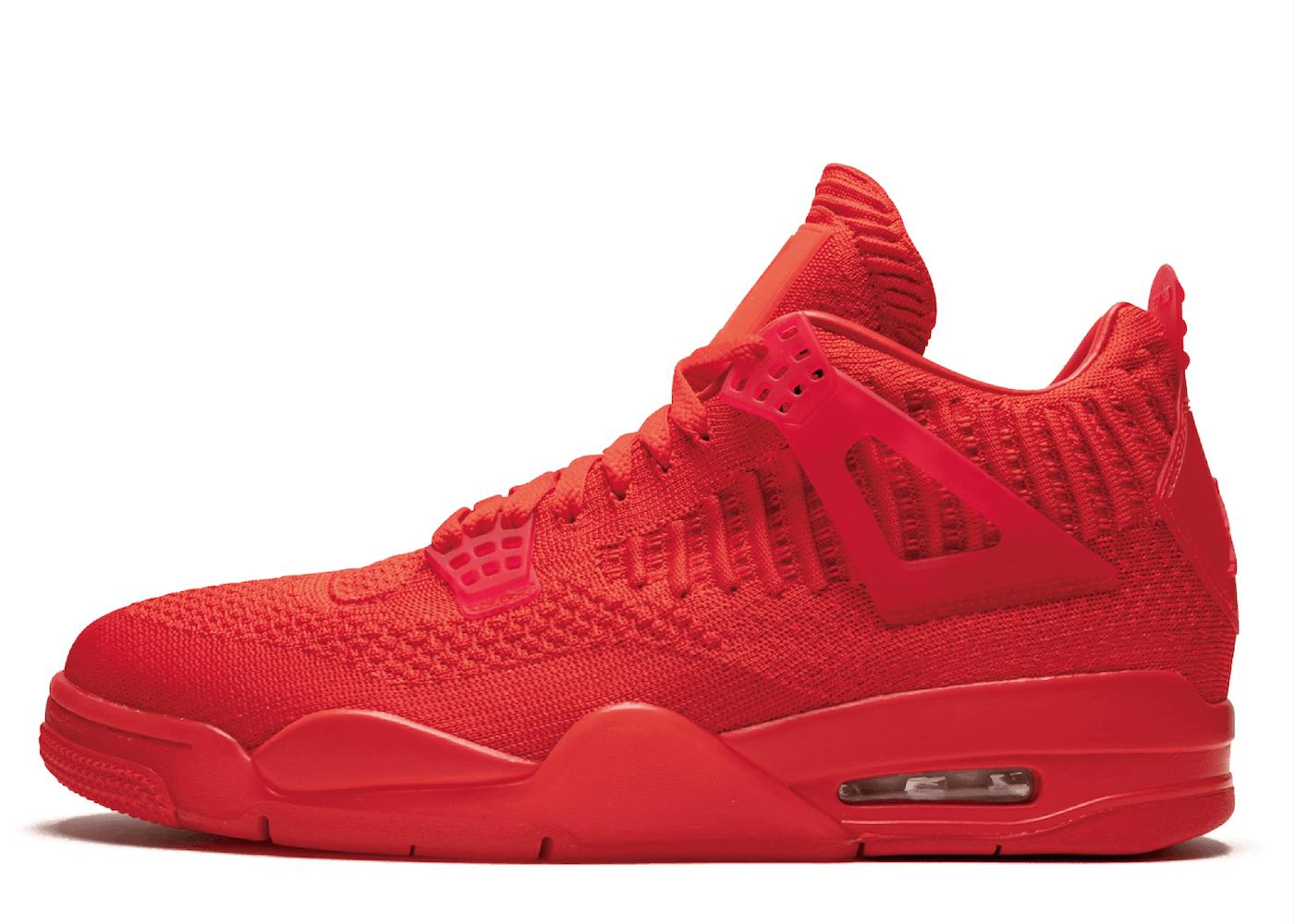 Nike Air Jordan 4 Retro Flyknit Redの写真