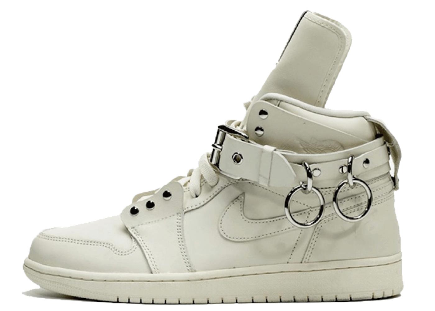 Comme des Garcons × Nike Air Jordan 1 Retro High Whiteの写真