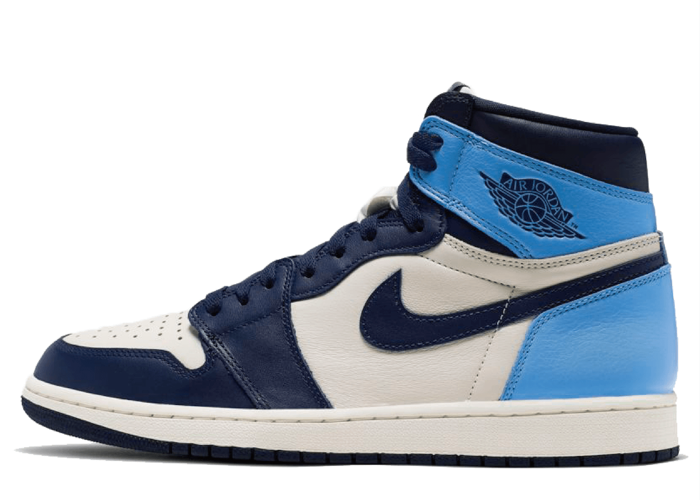 Nike Air Jordan 1 Retro High Obsidian UNCの写真