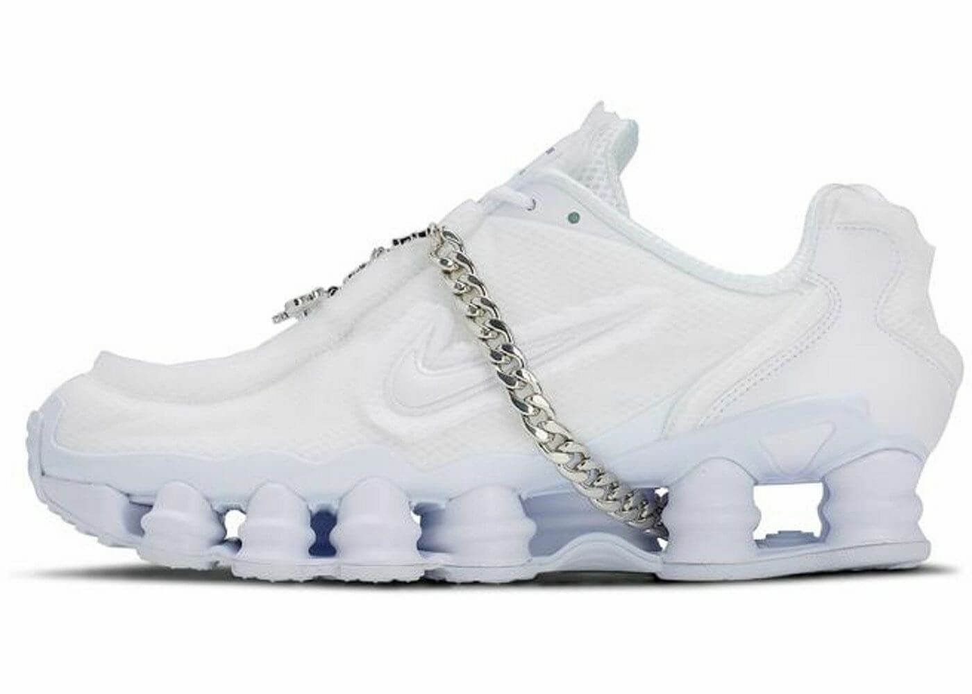 Comme des Garcons × Nike Shox White