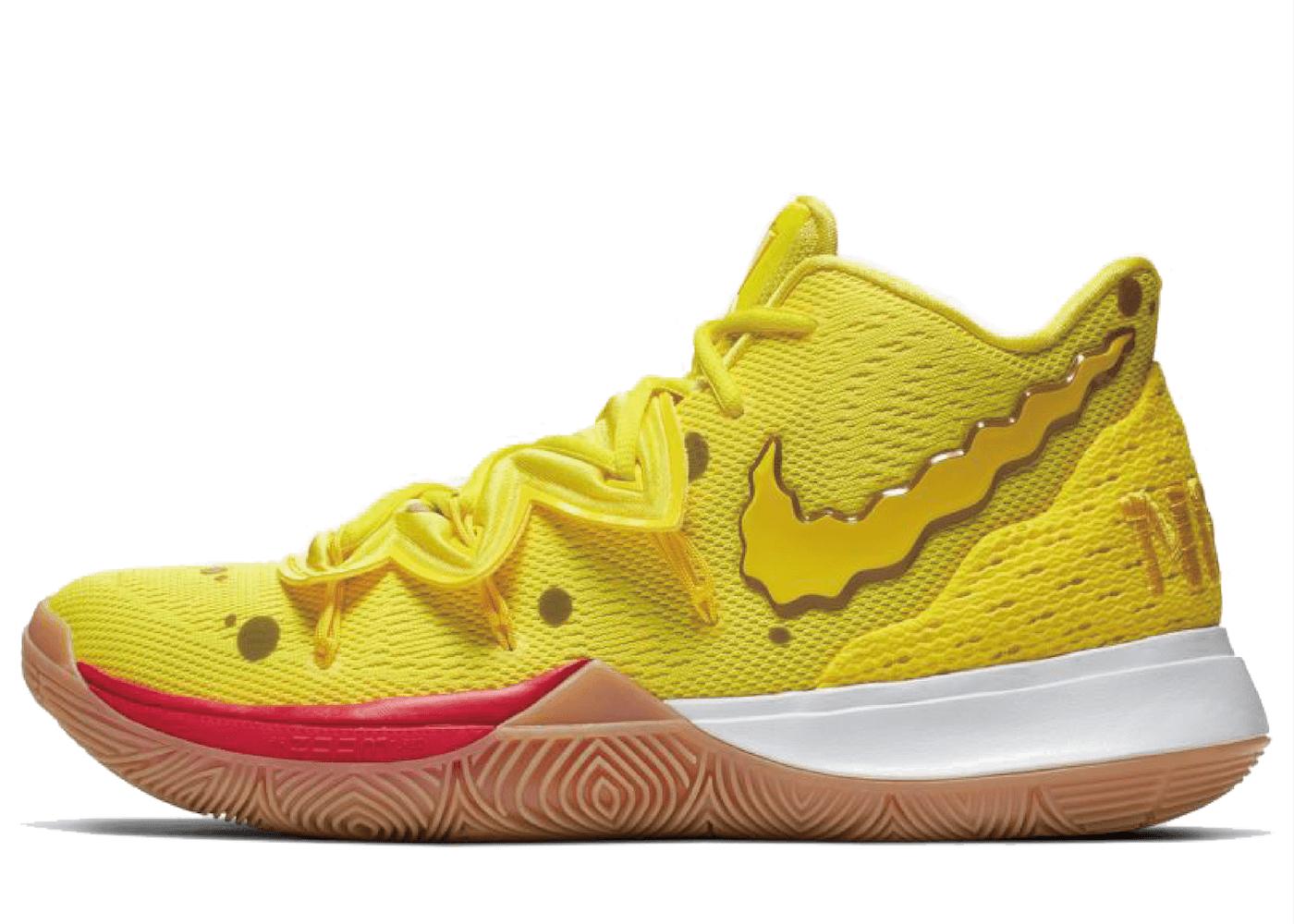 Nike Kyrie 5 Spongebob Squarepantsの写真
