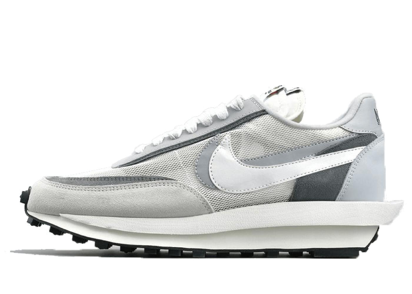 Sacai × Nike LD Waffle White Greyの写真