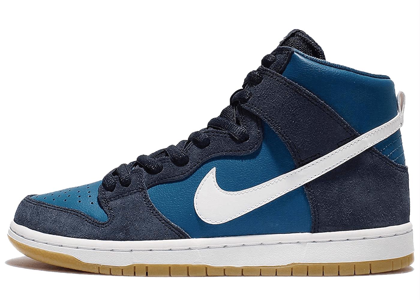 Nike SB Dunk High Industrial Blueの写真