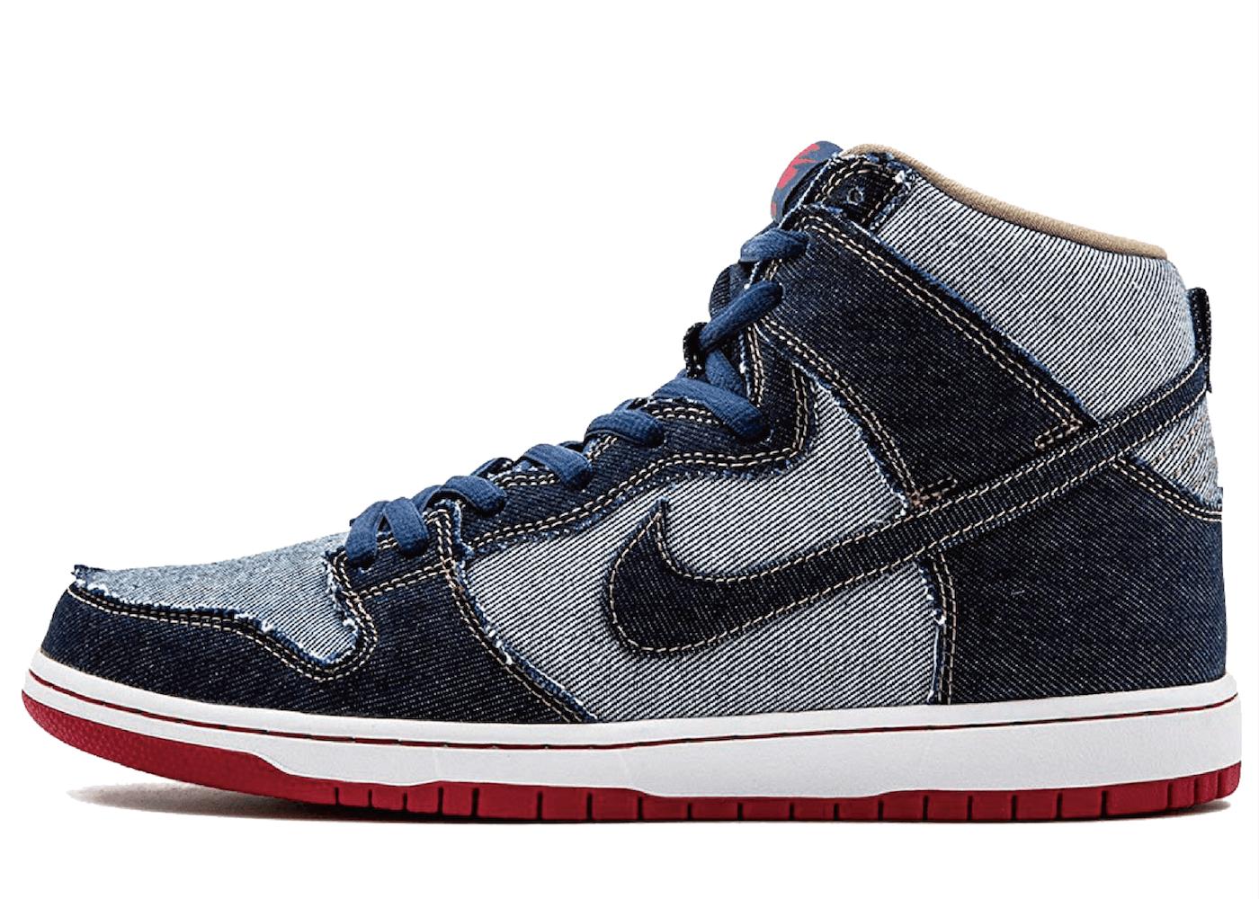 Nike SB Dunk High Reese Forbes Denim
