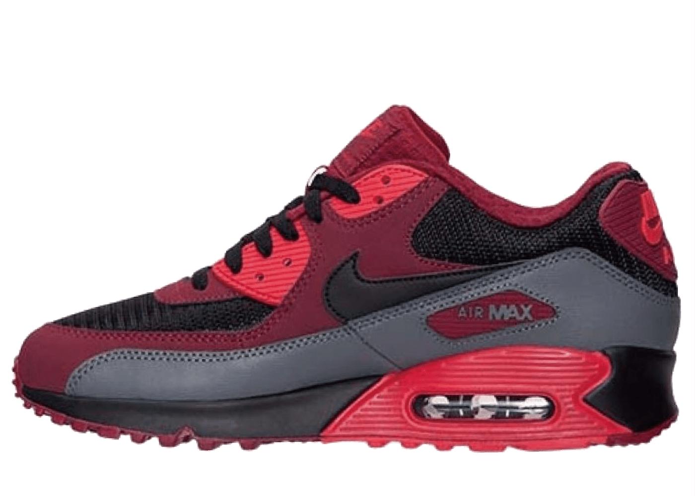 Nike Air Max 90 Team Red Black Dark Greyの写真