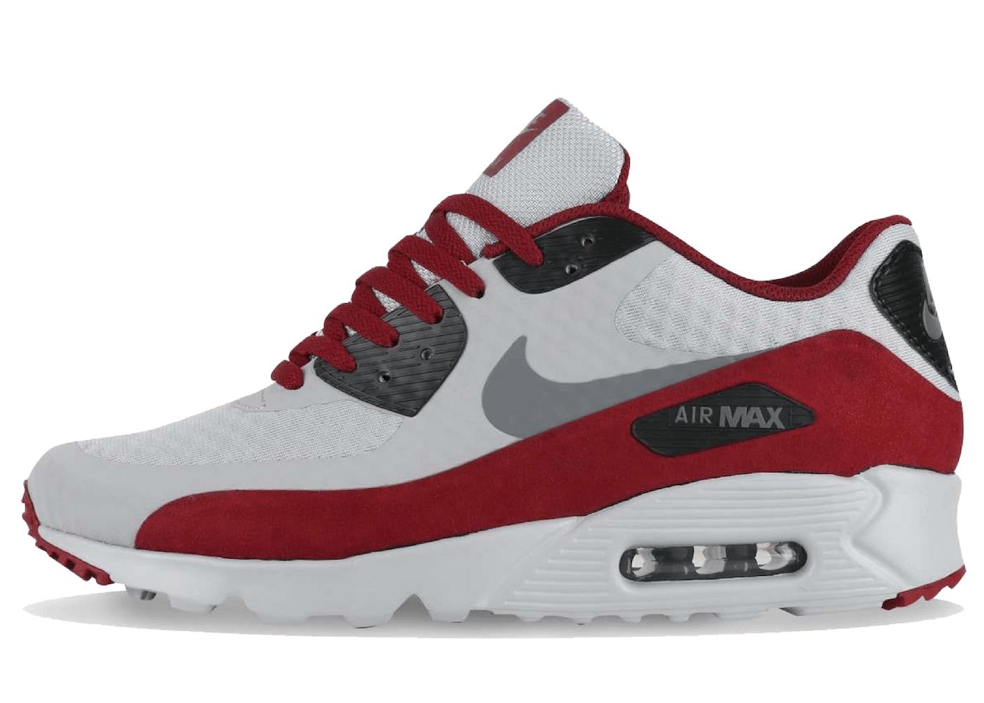 Nike Air Max 90 Ultra Wolf Grey Team Redの写真
