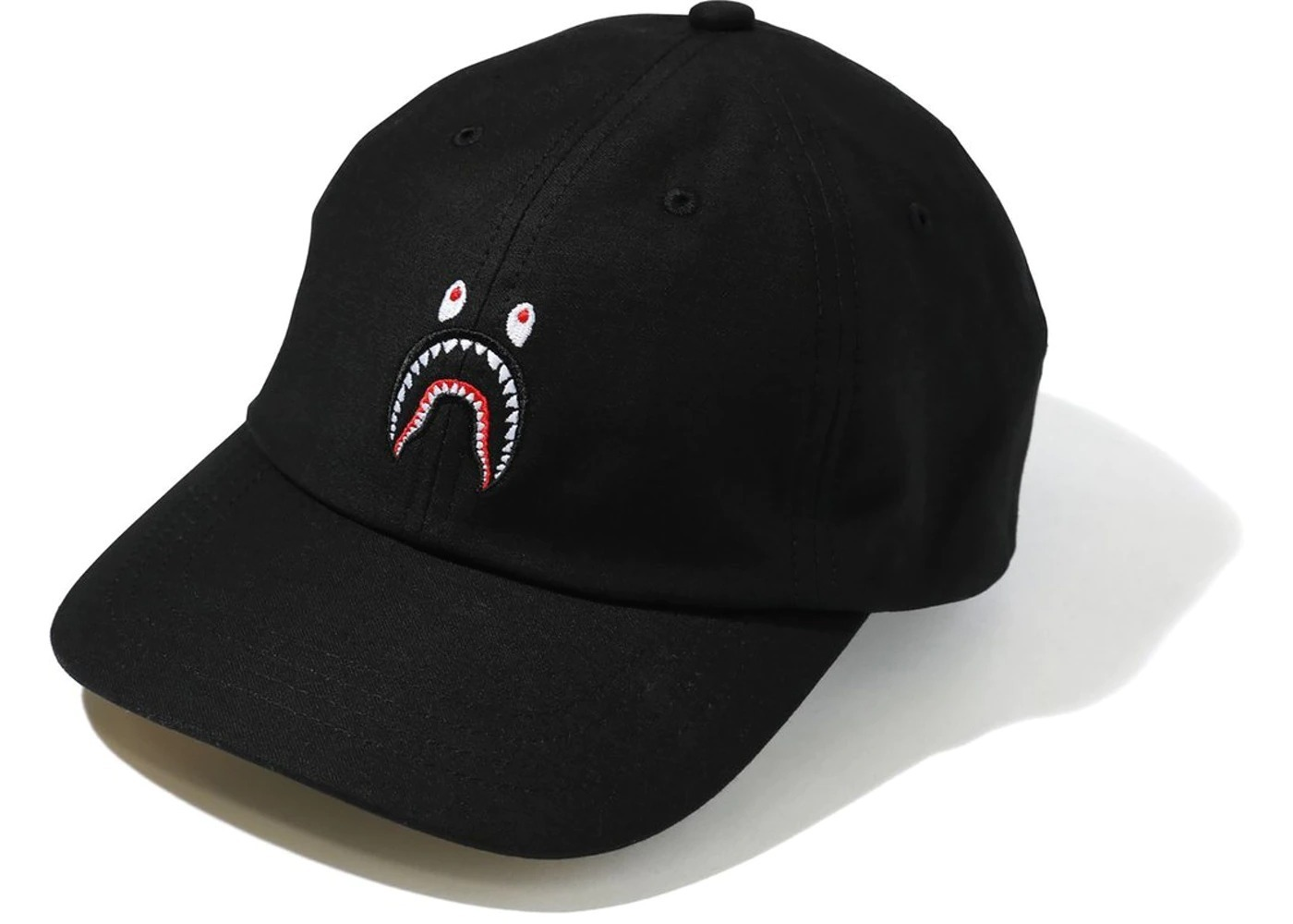 Bape Shark Panel Cap Black/Green (SS21)の写真
