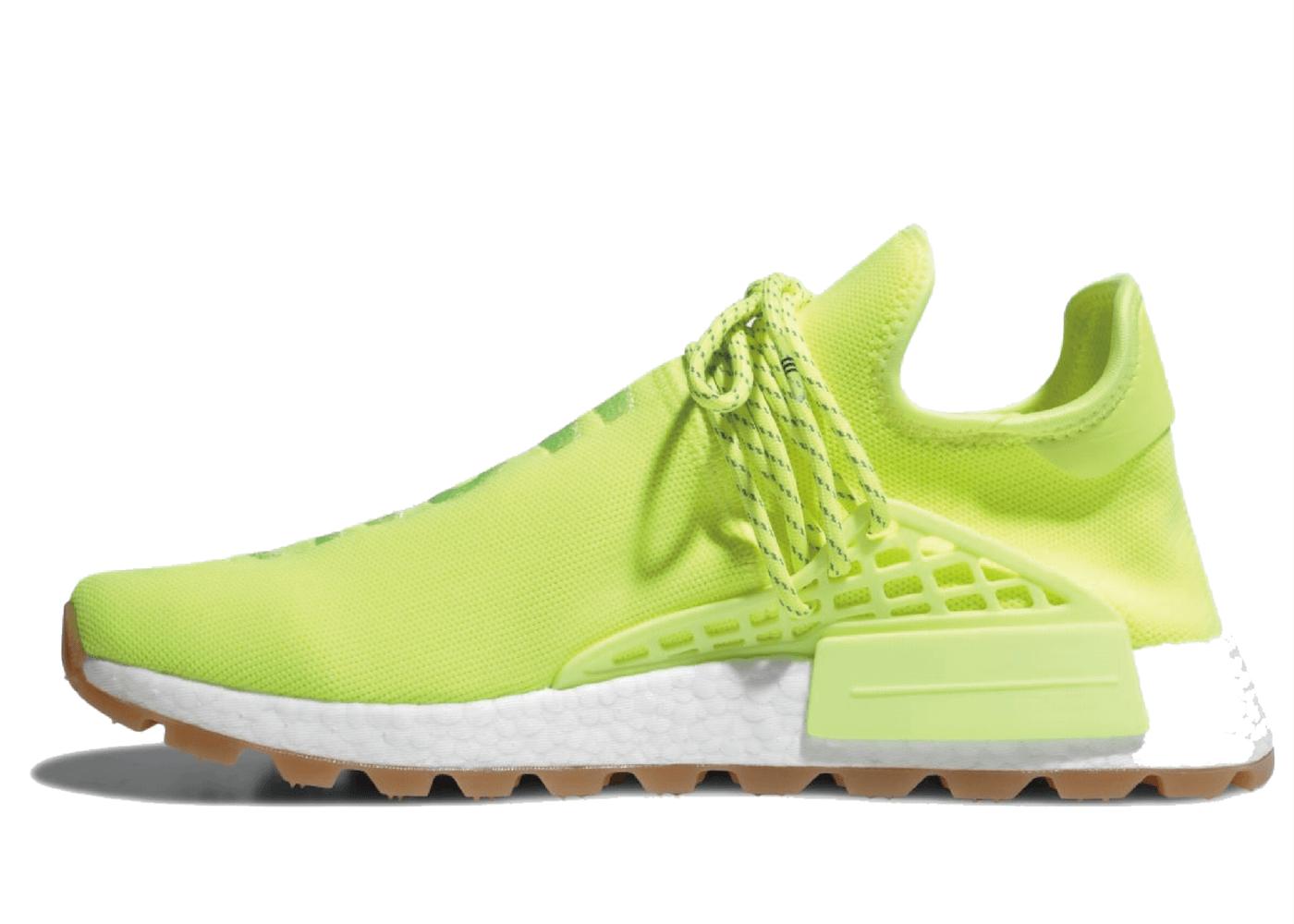 Adidas NMD Hu Trail Pharrell Solar Yellowの写真