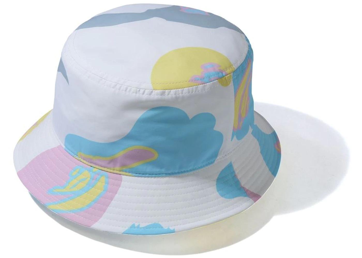 Bape Def Camo Bucket Hat White (SS21)の写真