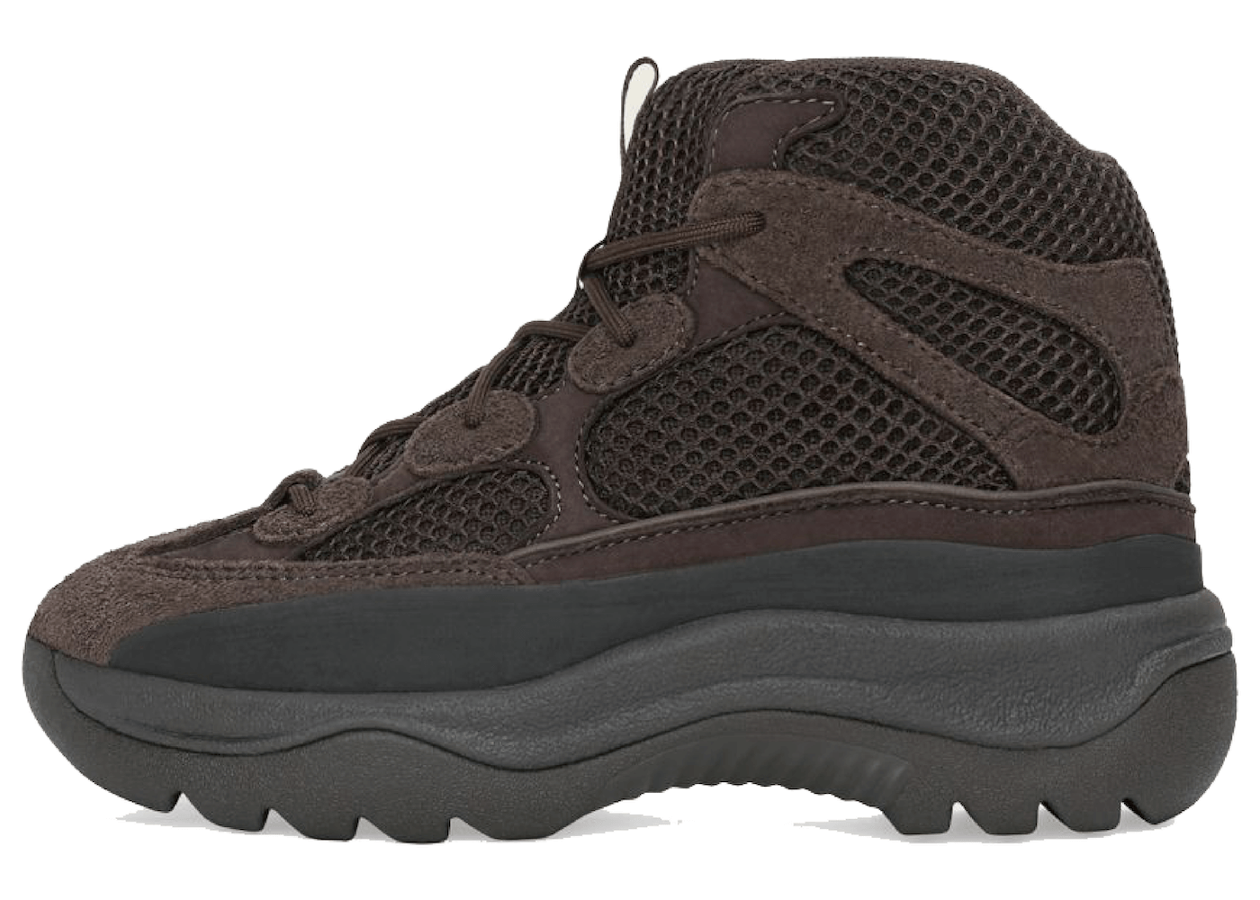 """Adidas Yeezy Desert Boot Kids """"Oil""""の写真"""