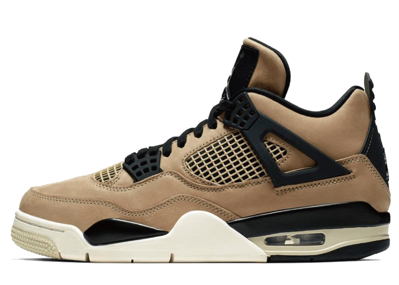 Nike Air Jordan 4 Retro Fossil Women'sの写真