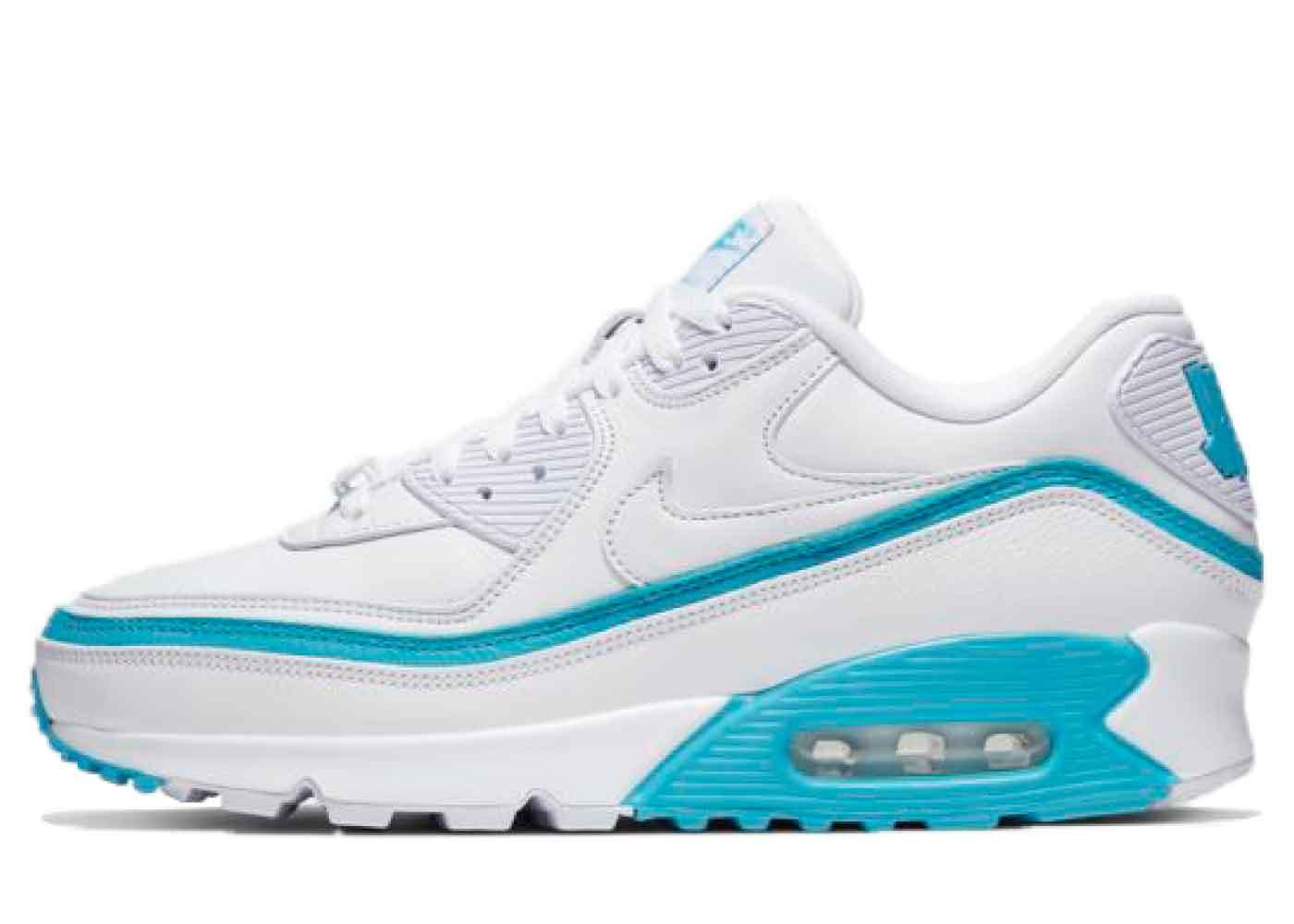 Nike Air Max 90 Undefeated White Blue Furyの写真