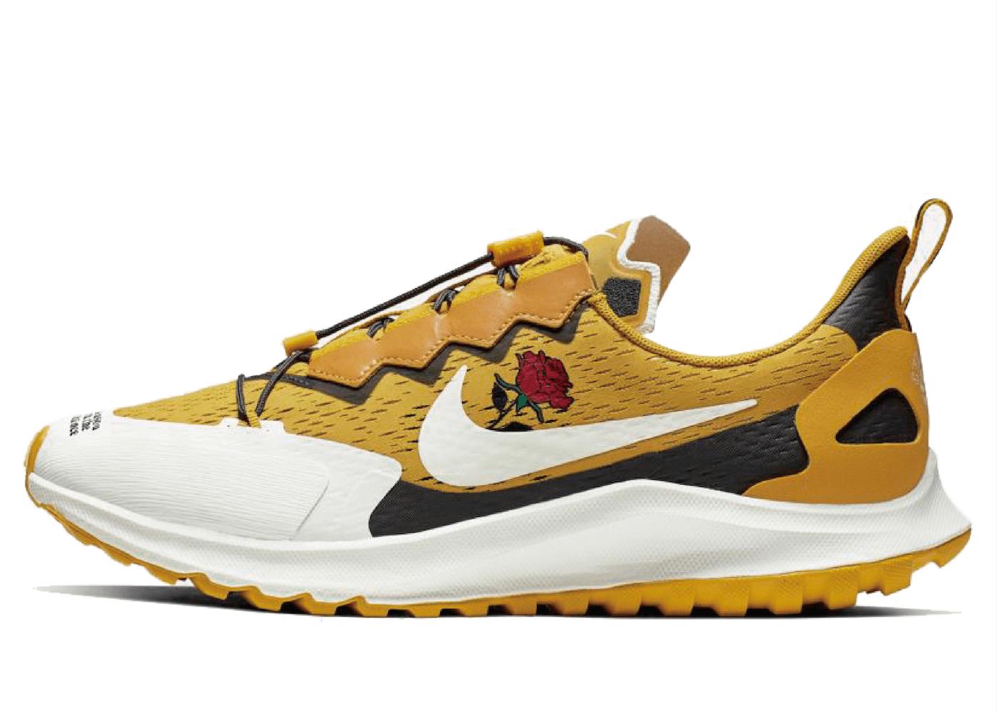 Nike Air Zoom Pegasus 36 Trail Gyakusou Yellowの写真