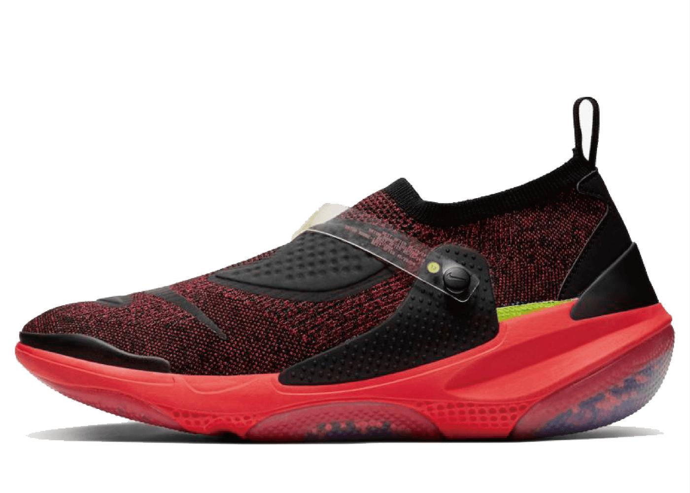 Nike Joyride Flyknit OBJ Bright Crimson Blue Heroの写真