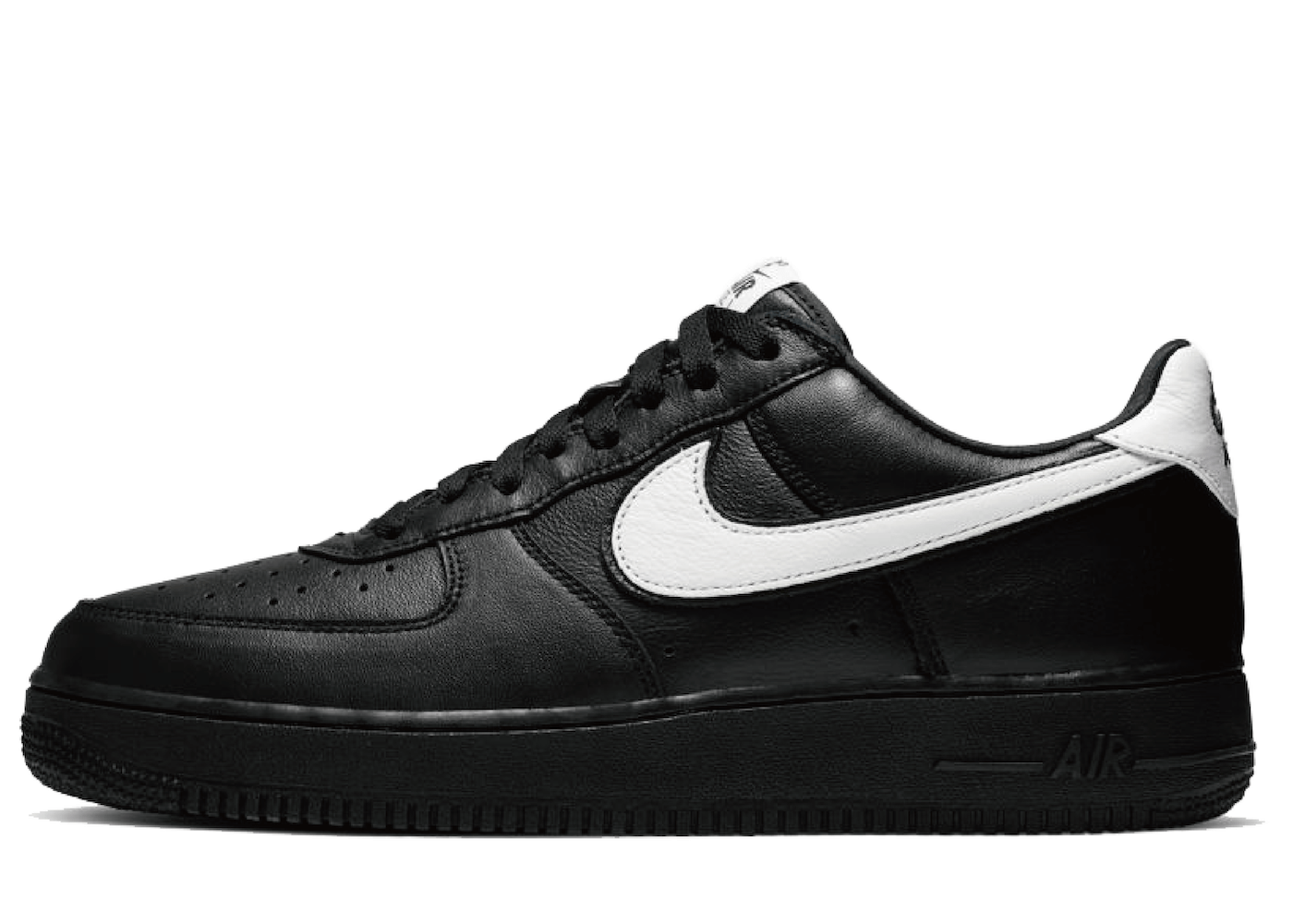 Nike Air Force 1 Low QS Black Whiteの写真