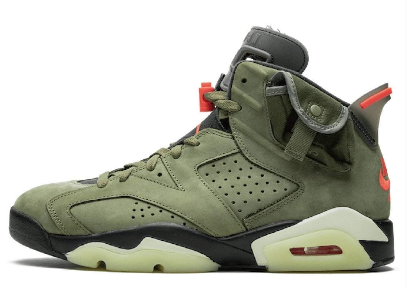 Nike Air Jordan 6 Retro Travis Scottの写真