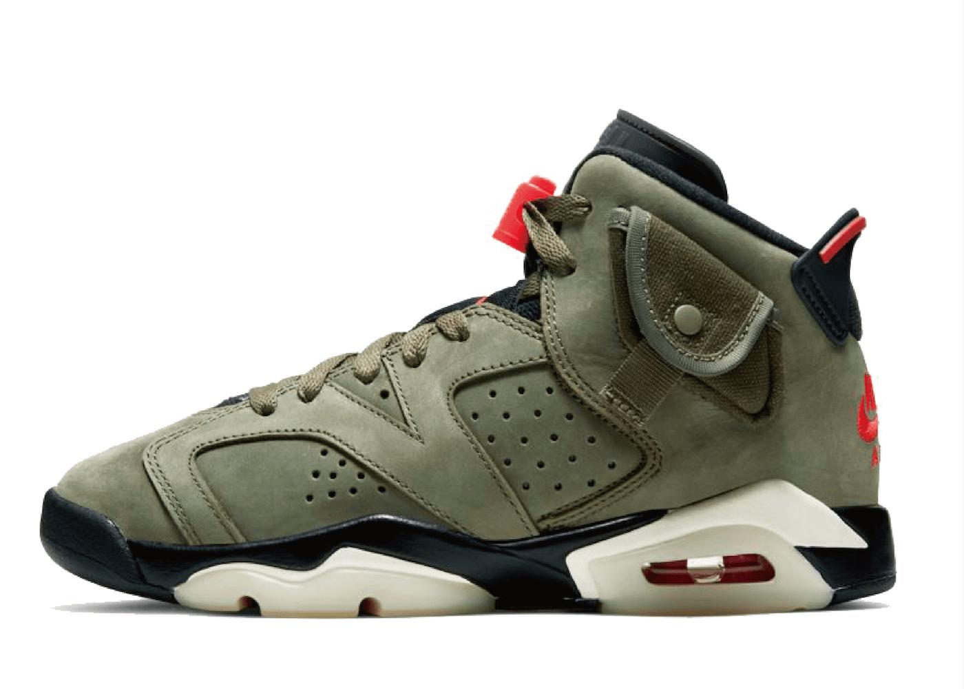 Nike Air Jordan 6 Retro Travis Scott (GS)の写真