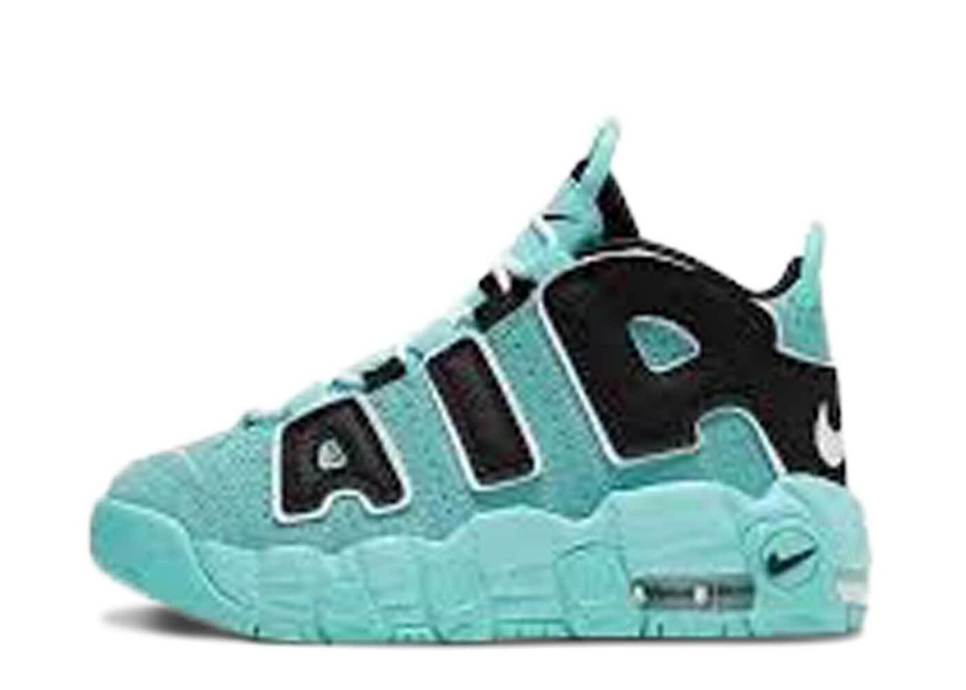 Nike Air More Uptempo Light Aqua PSの写真