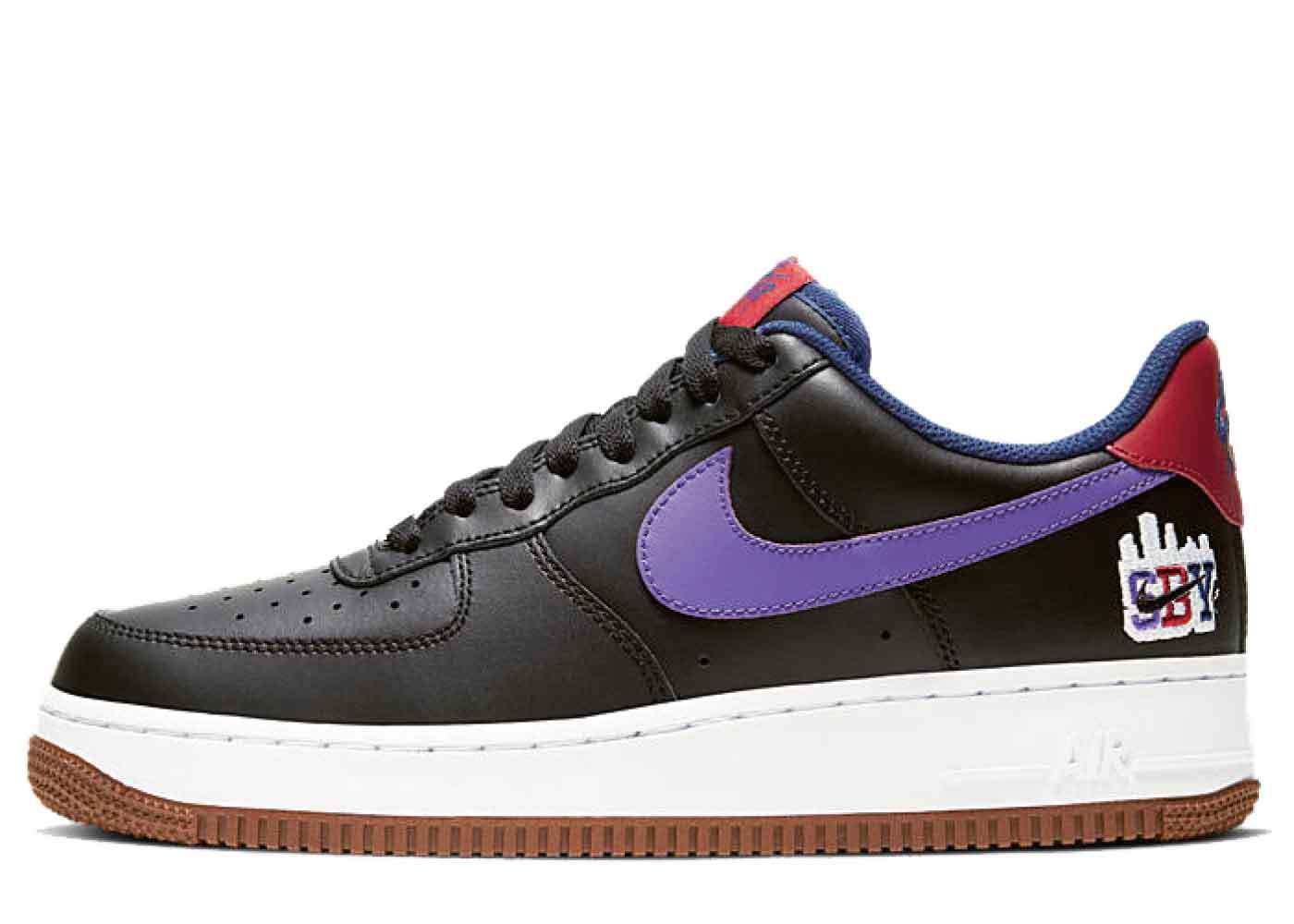 Nike Air Force 1 Low SBY Collection Blackの写真