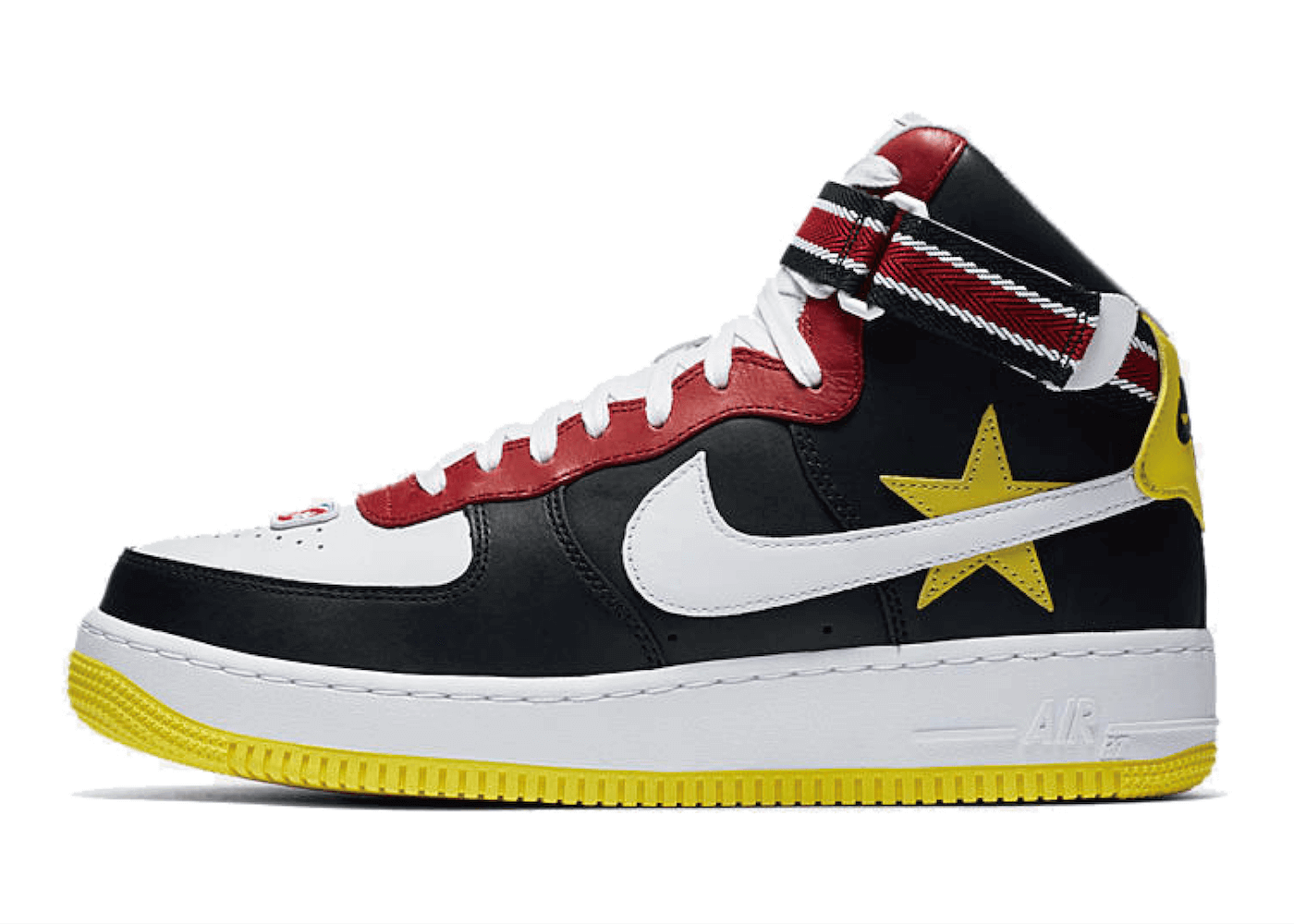 "RICCARDO TISCI × NIKELAB AIR FORCE 1 HI ""VICTORIOUS MINOTAURS 2ND"" BLACK WHITEの写真"