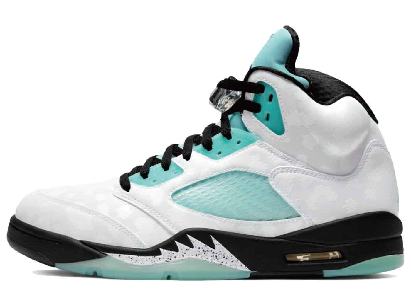 Nike Air Jordan 5 Retro Island Greenの写真