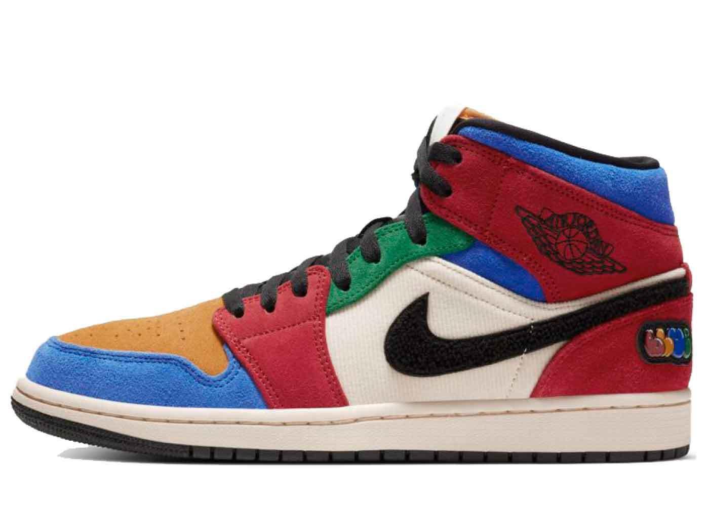 Nike Air Jordan 1 Mid SE Fearless Blue the Greatの写真