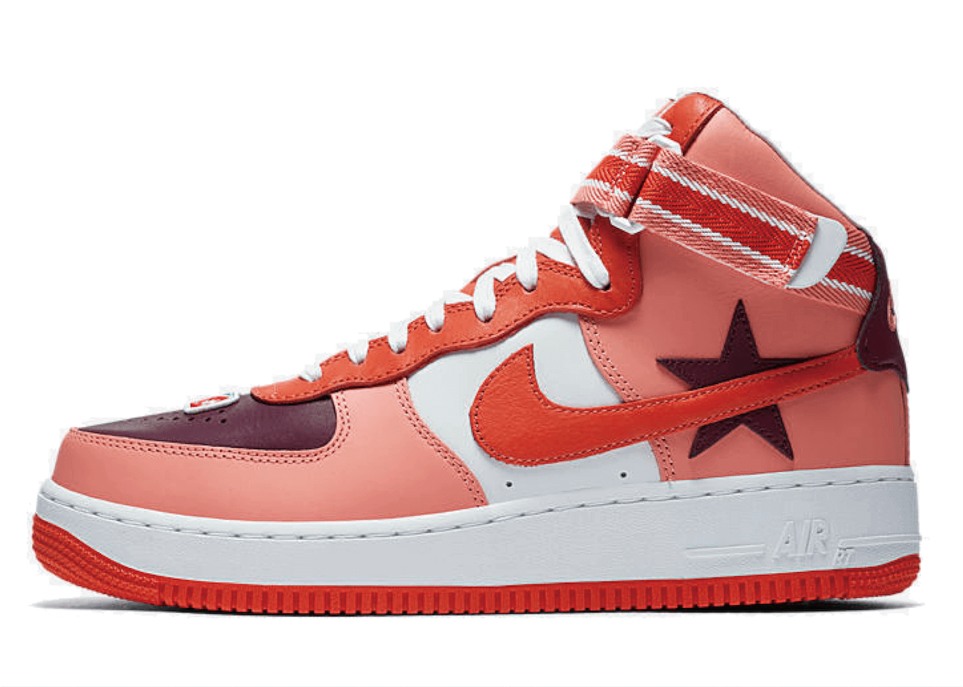 "RICCARDO TISCI × NIKELAB AIR FORCE 1 HI ""VICTORIOUS MINOTAURS 2ND"" ORANGE BLACKの写真"