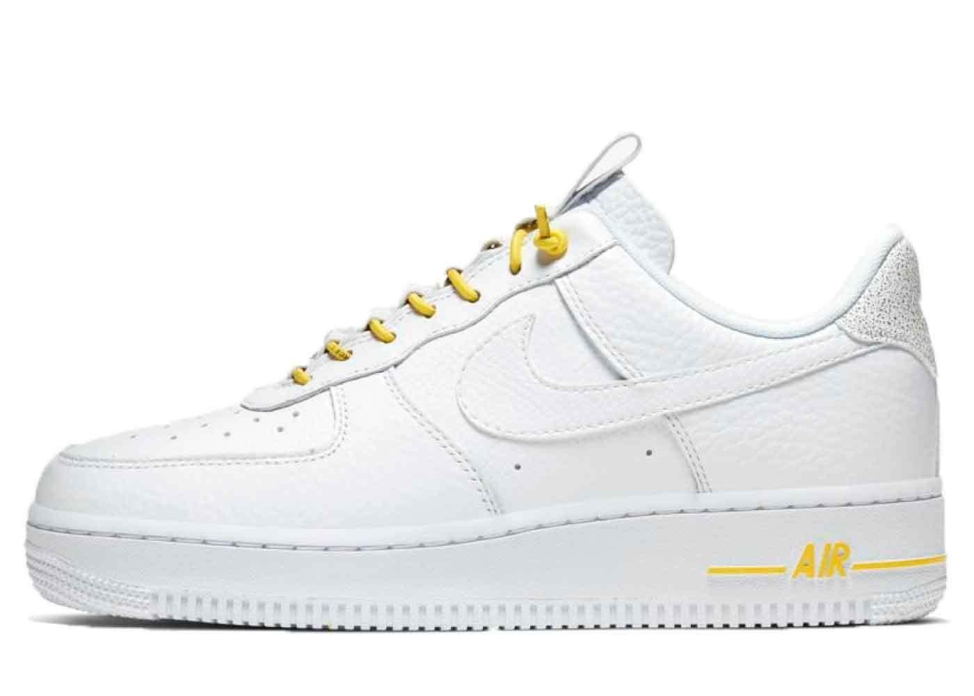 Nike Air Force 1 Lux White Chrome Yellow Womensの写真