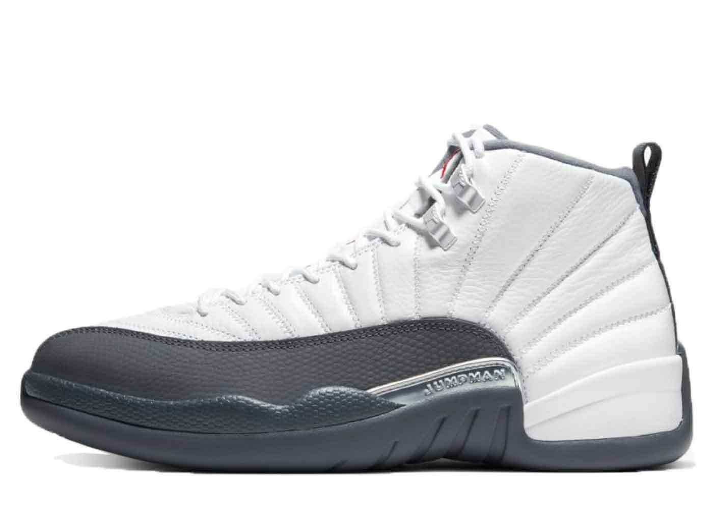 Nike Air Jordan 12 White Dark Greyの写真