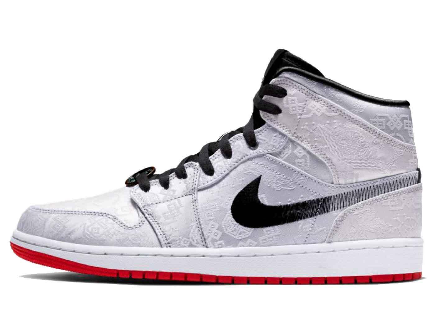 Clot × Nike Air Jordan 1Mid Fearless Edison Chen の写真