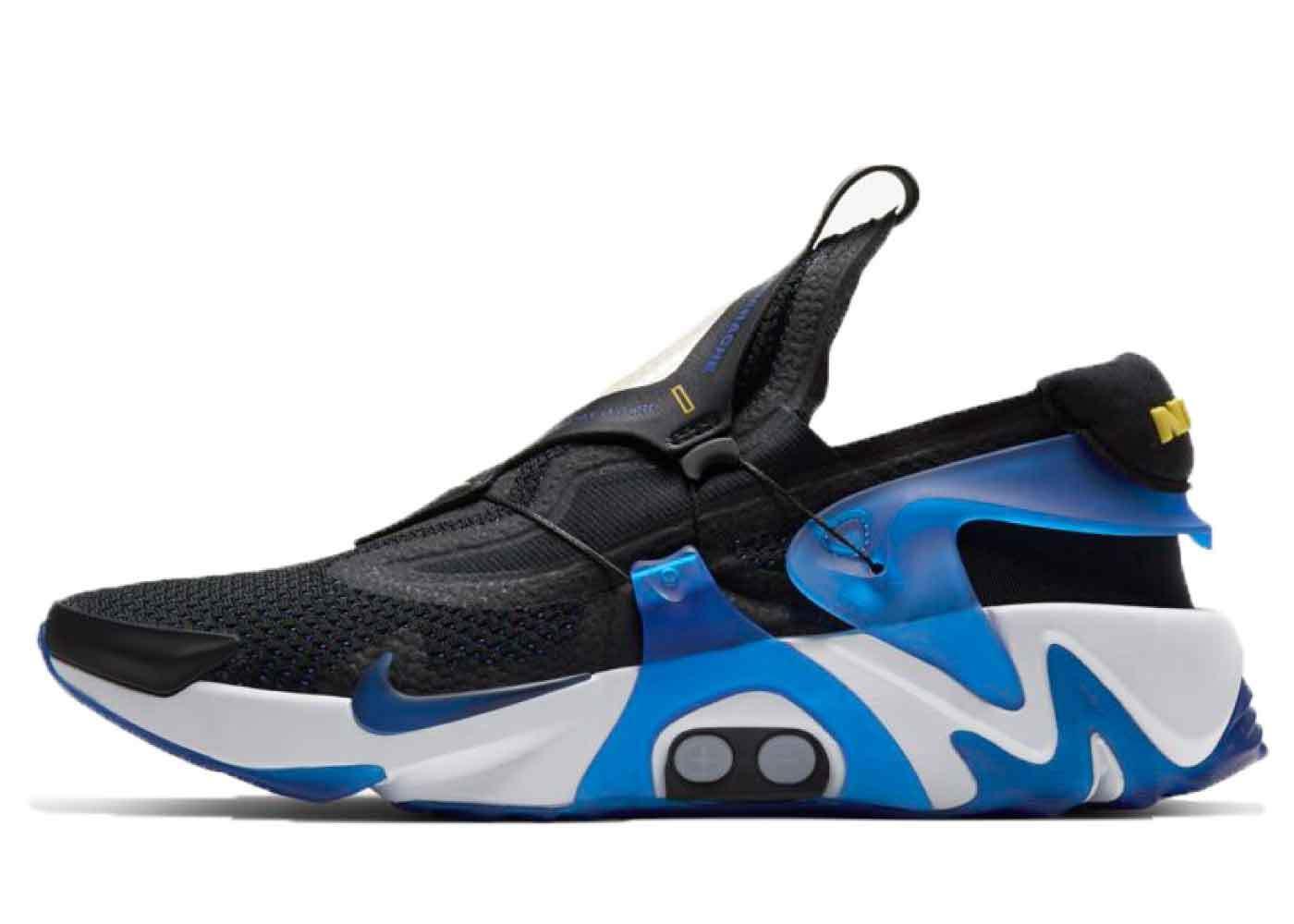 Nike Adapt Hurache Black Racer Blueの写真