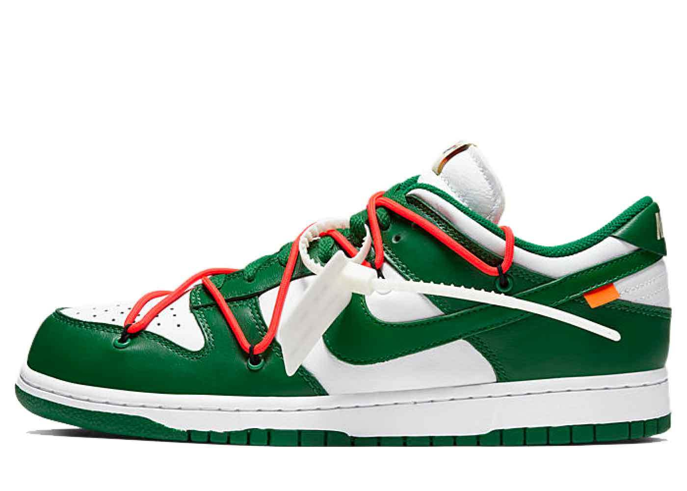 Nike Dunk Low Off-White Pine Greenの写真