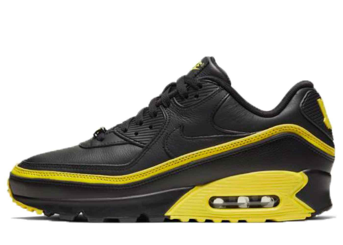 Nike Air Max 90 Undefeated Black Optic Yellowの写真