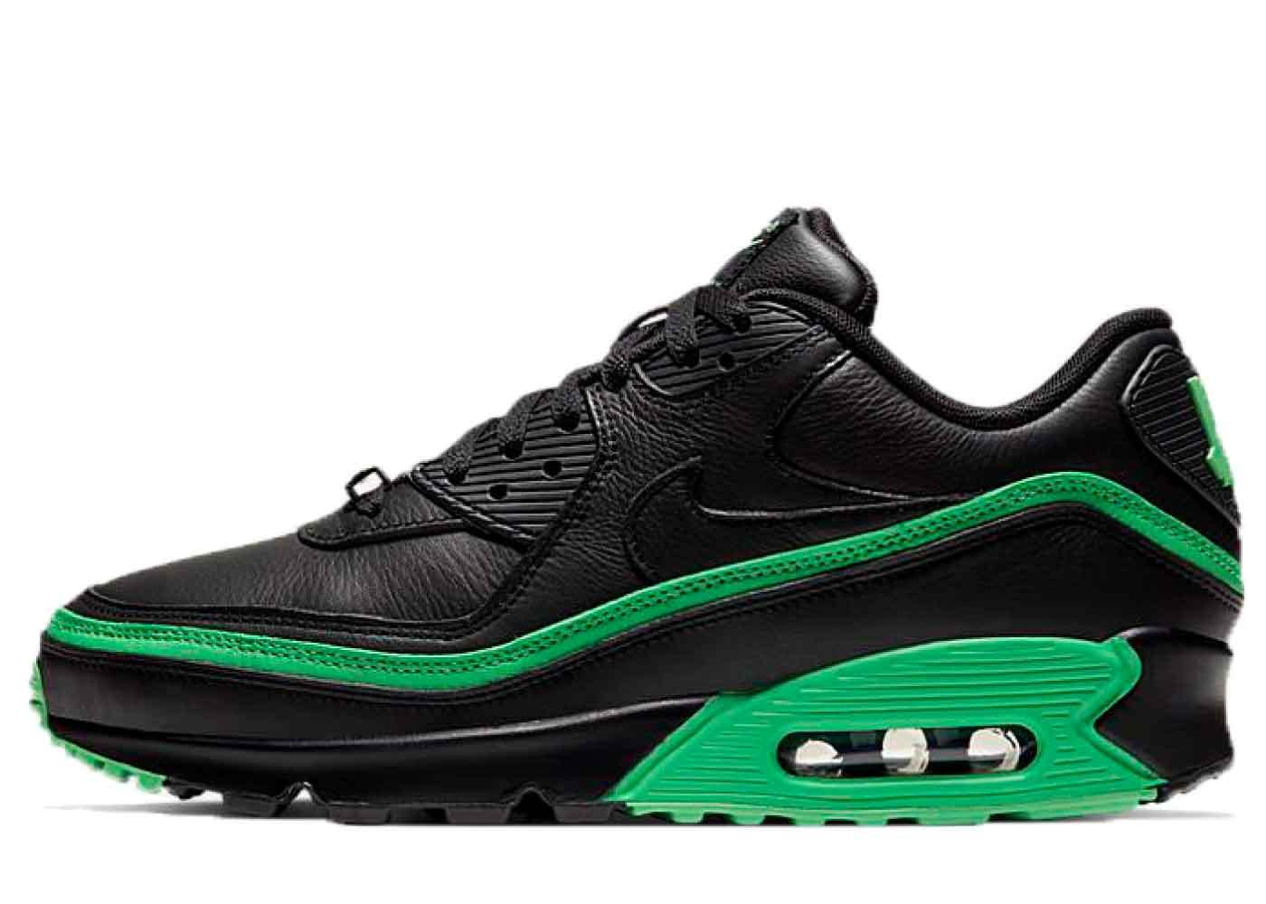 Nike Air Max 90 Undefeated Black Green Sparkの写真
